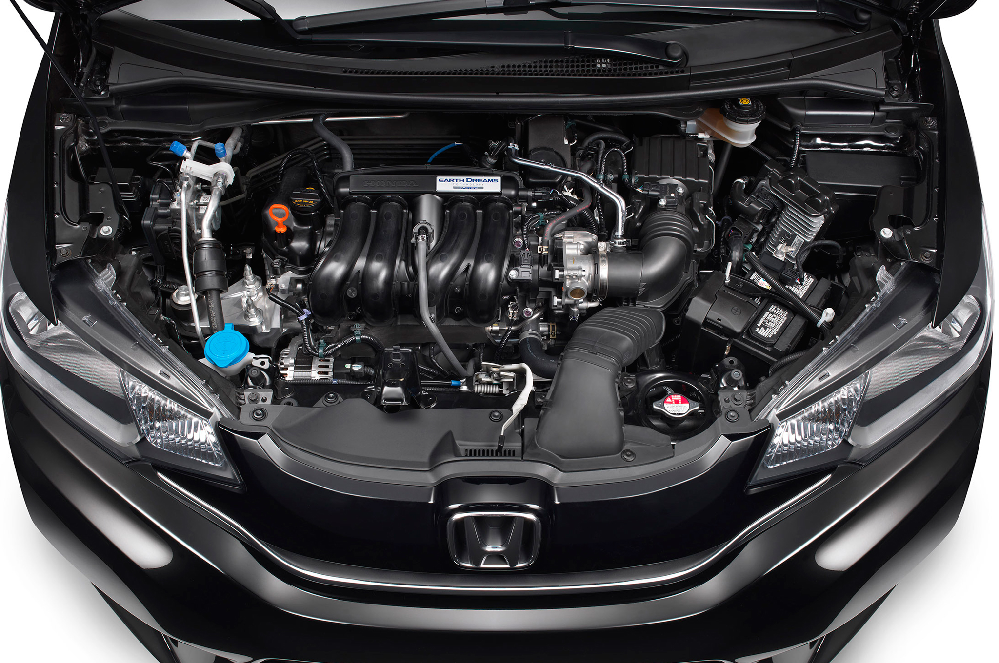 2015 Honda Fit Engine Profile (Photo 14 of 16)