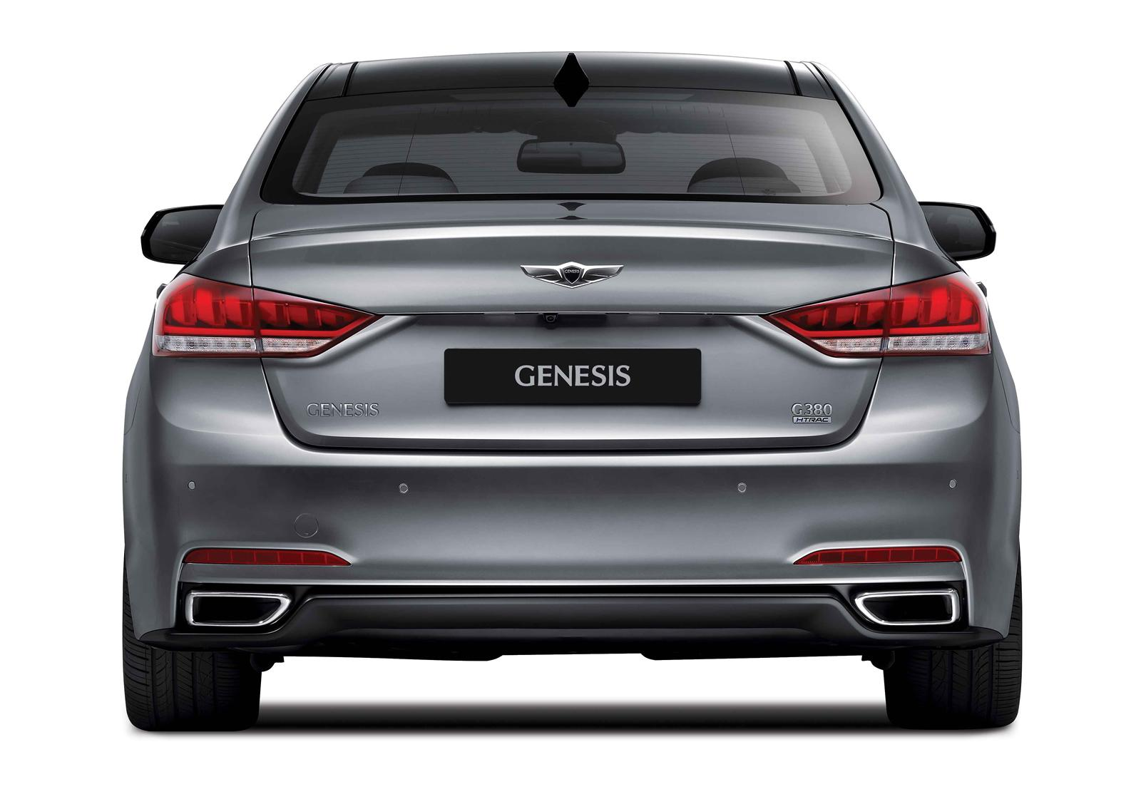 2015 Hyundai Genesis Rear Exterior Design (View 7 of 11)