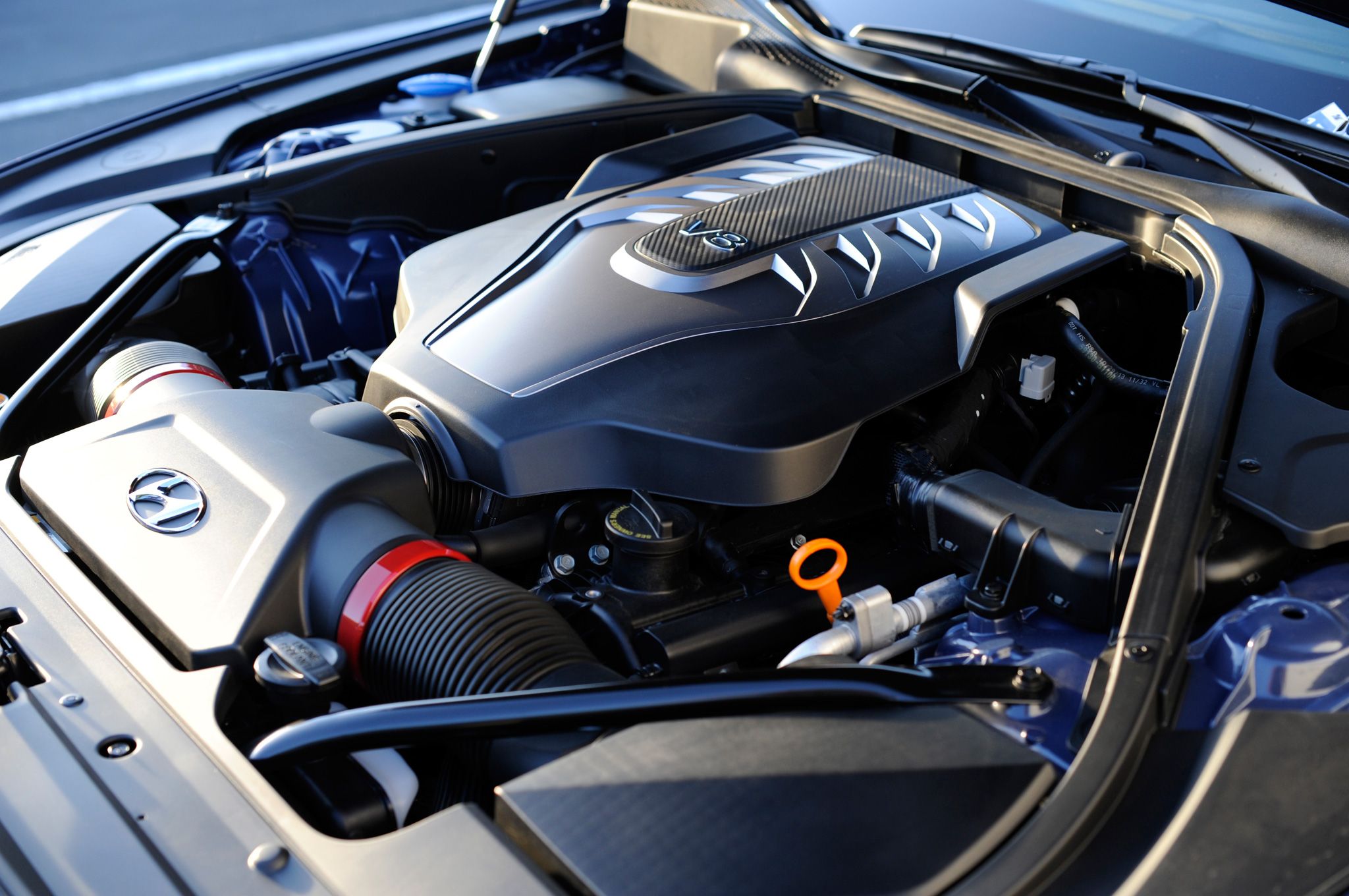 2015 Hyundai Genesis V8 Engine View (View 1 of 11)
