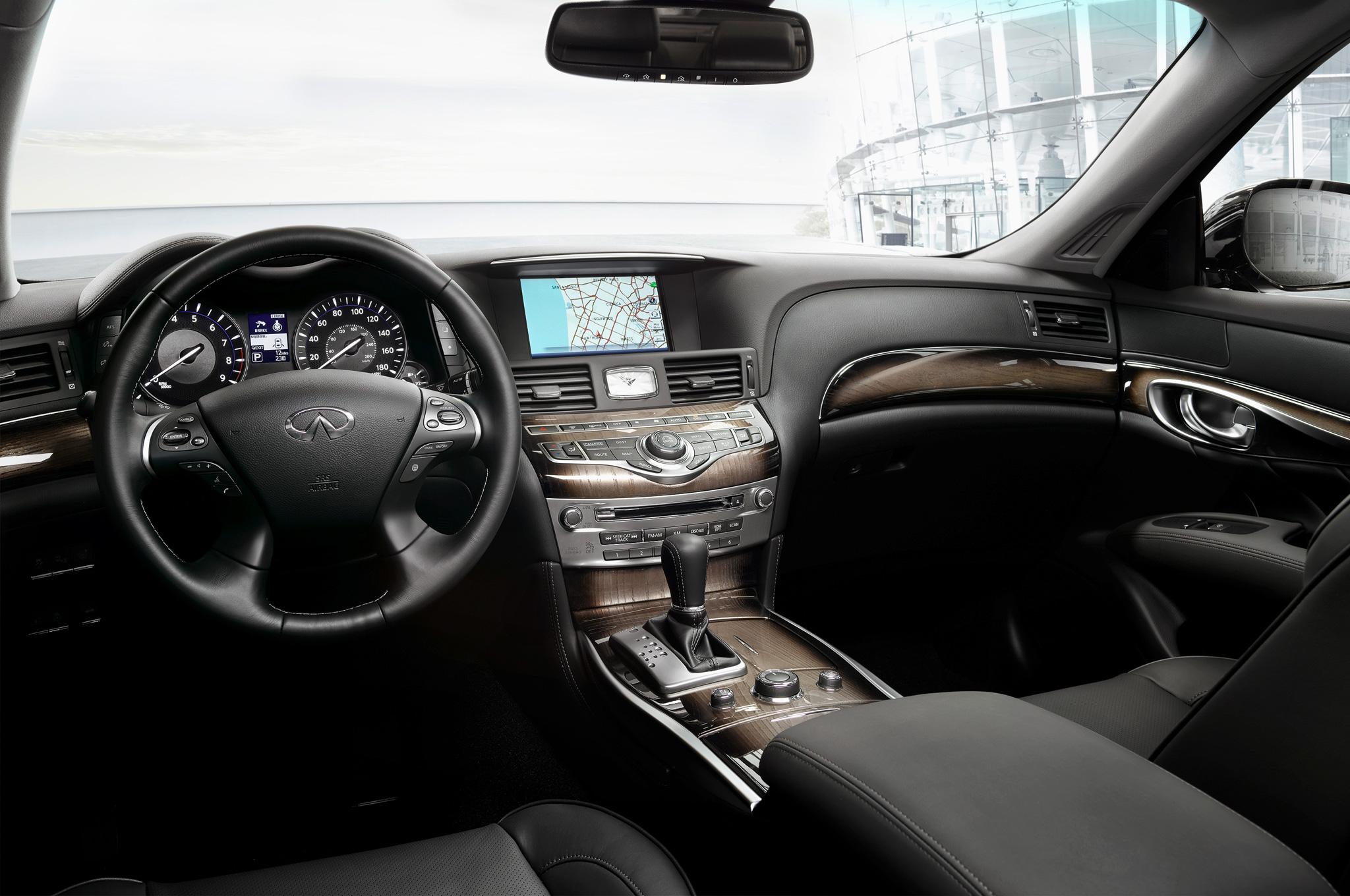 2015 Infiniti Q70l Cockpit And Head Unit (View 6 of 10)
