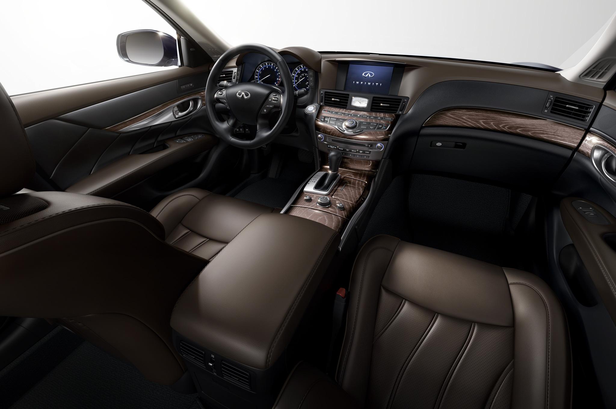 2015 Infiniti Q70l Dashboard Design (View 7 of 10)