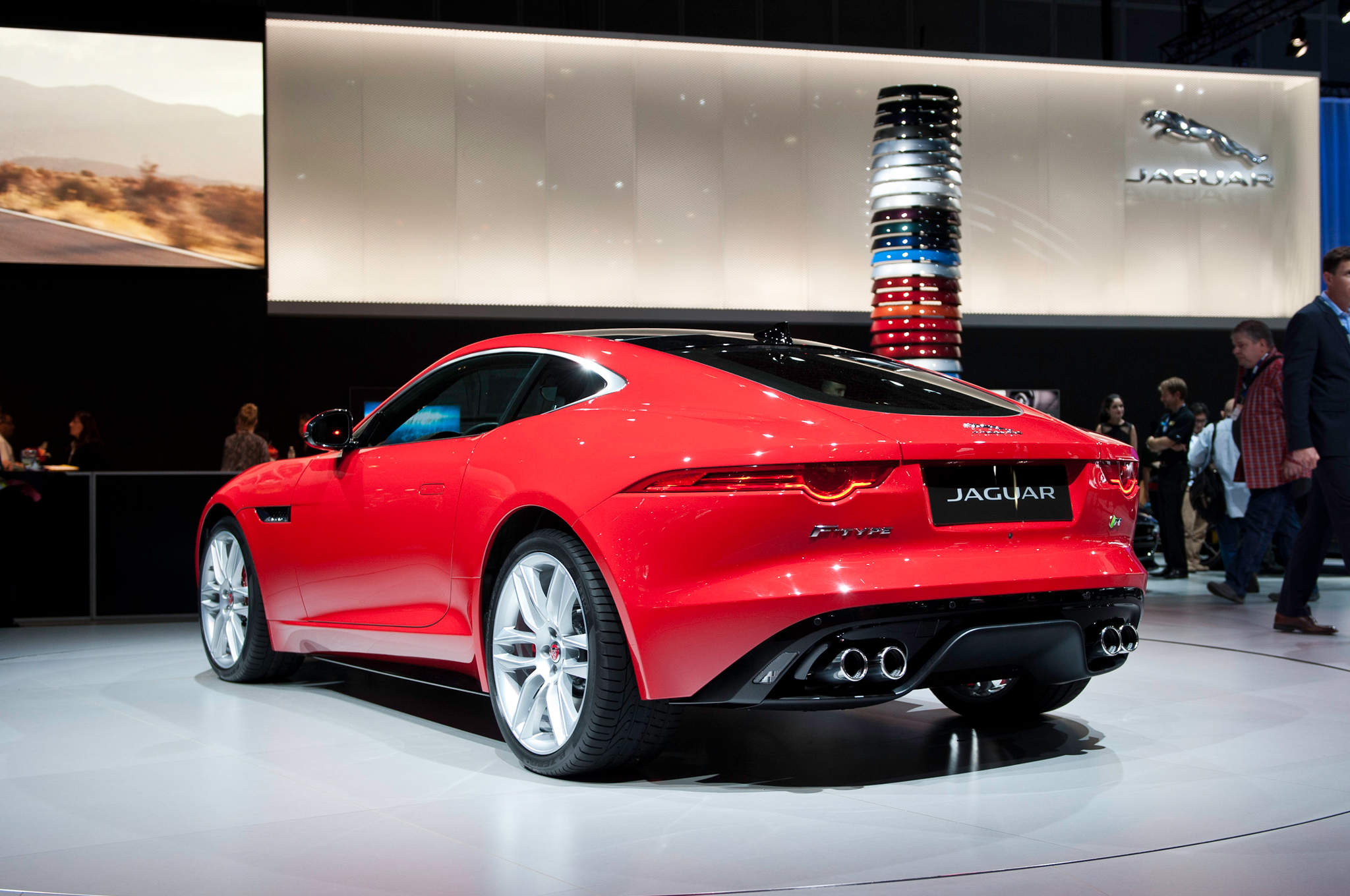 2015 Jaguar F Type Coupe Exterior Profile (View 17 of 26)