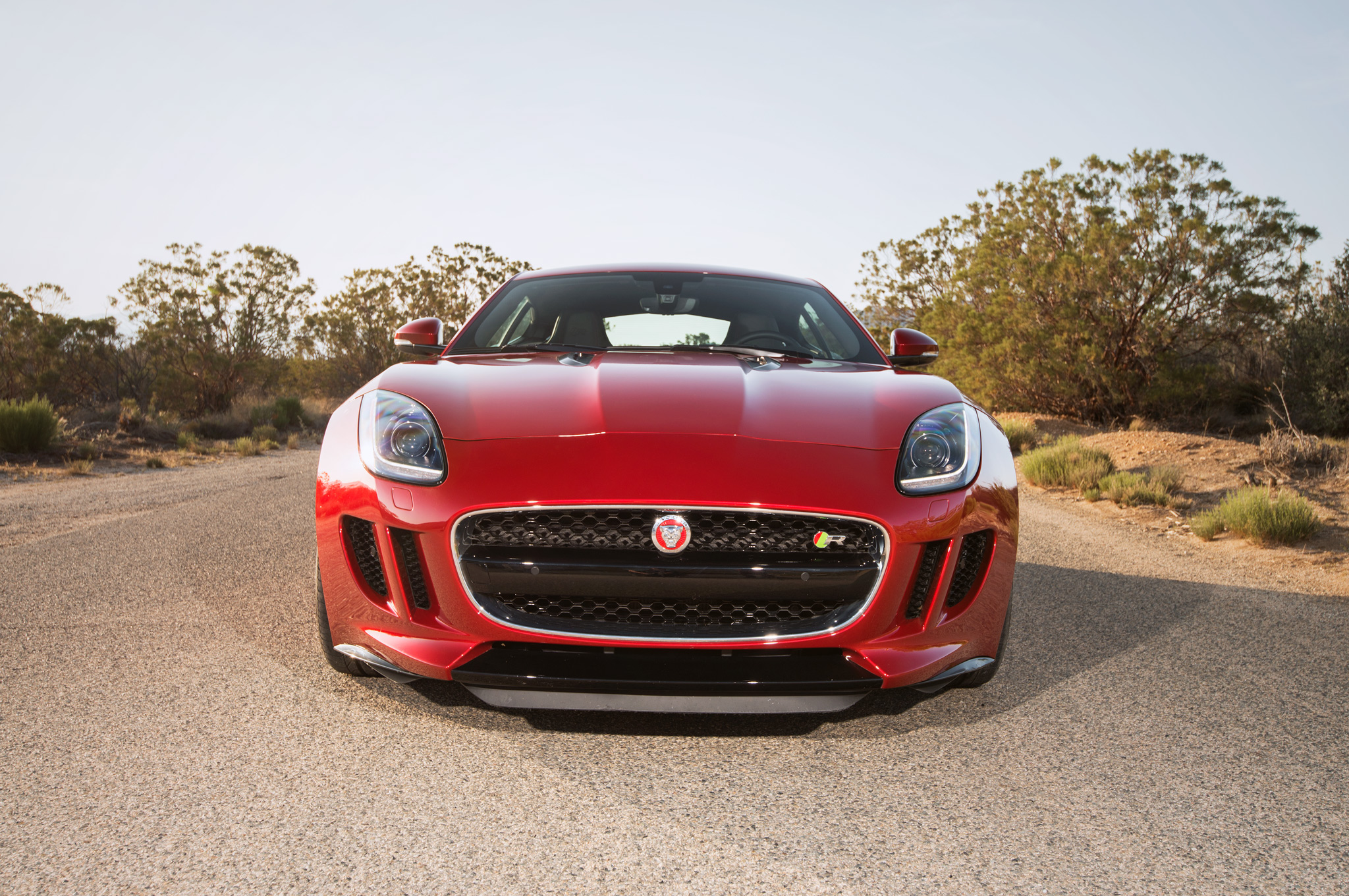 2015 Jaguar F Type Coupe Front End (View 18 of 26)