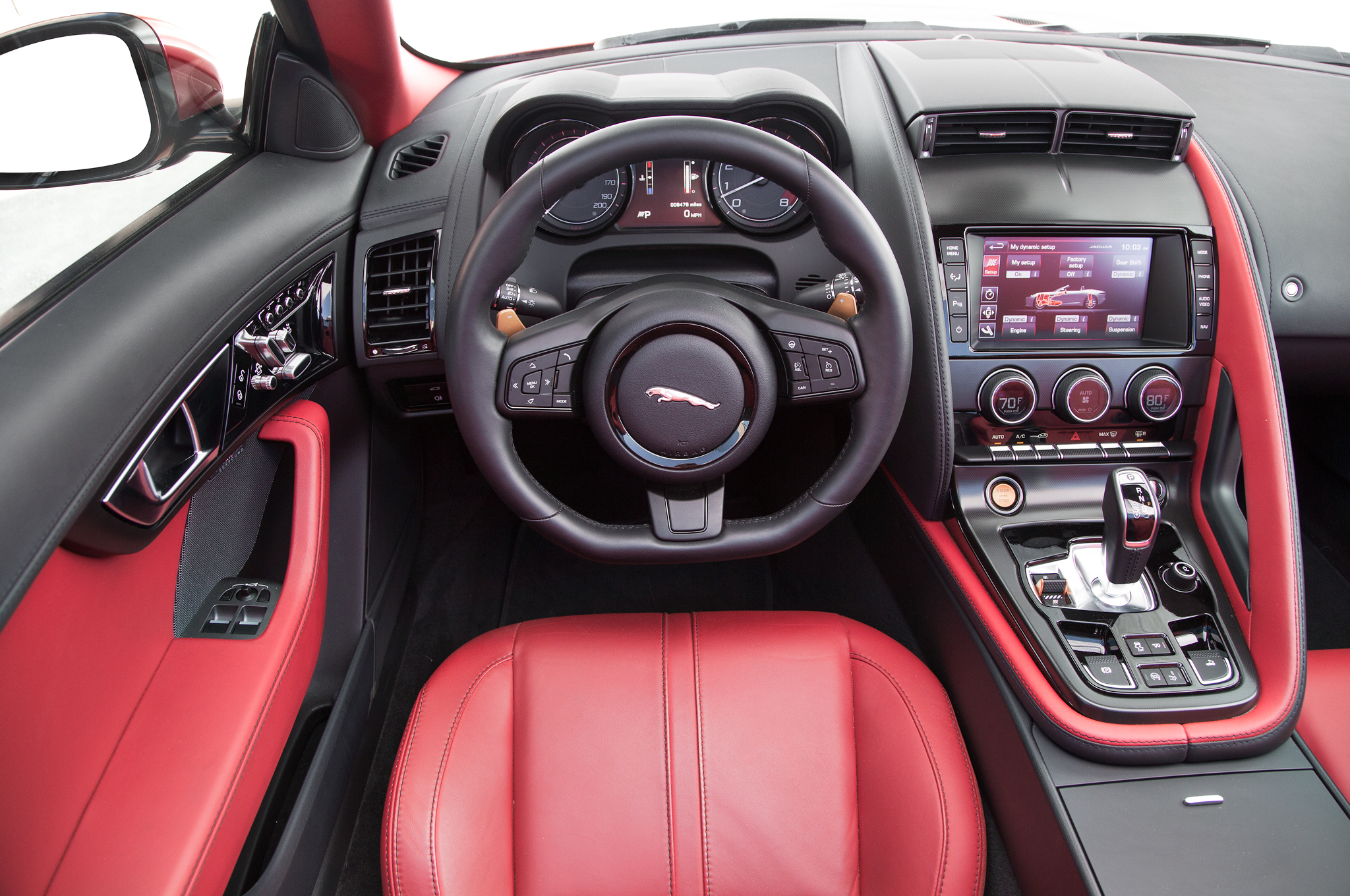 2015 Jaguar F Type Coupe V8 Cockpit (Photo 26 of 26)
