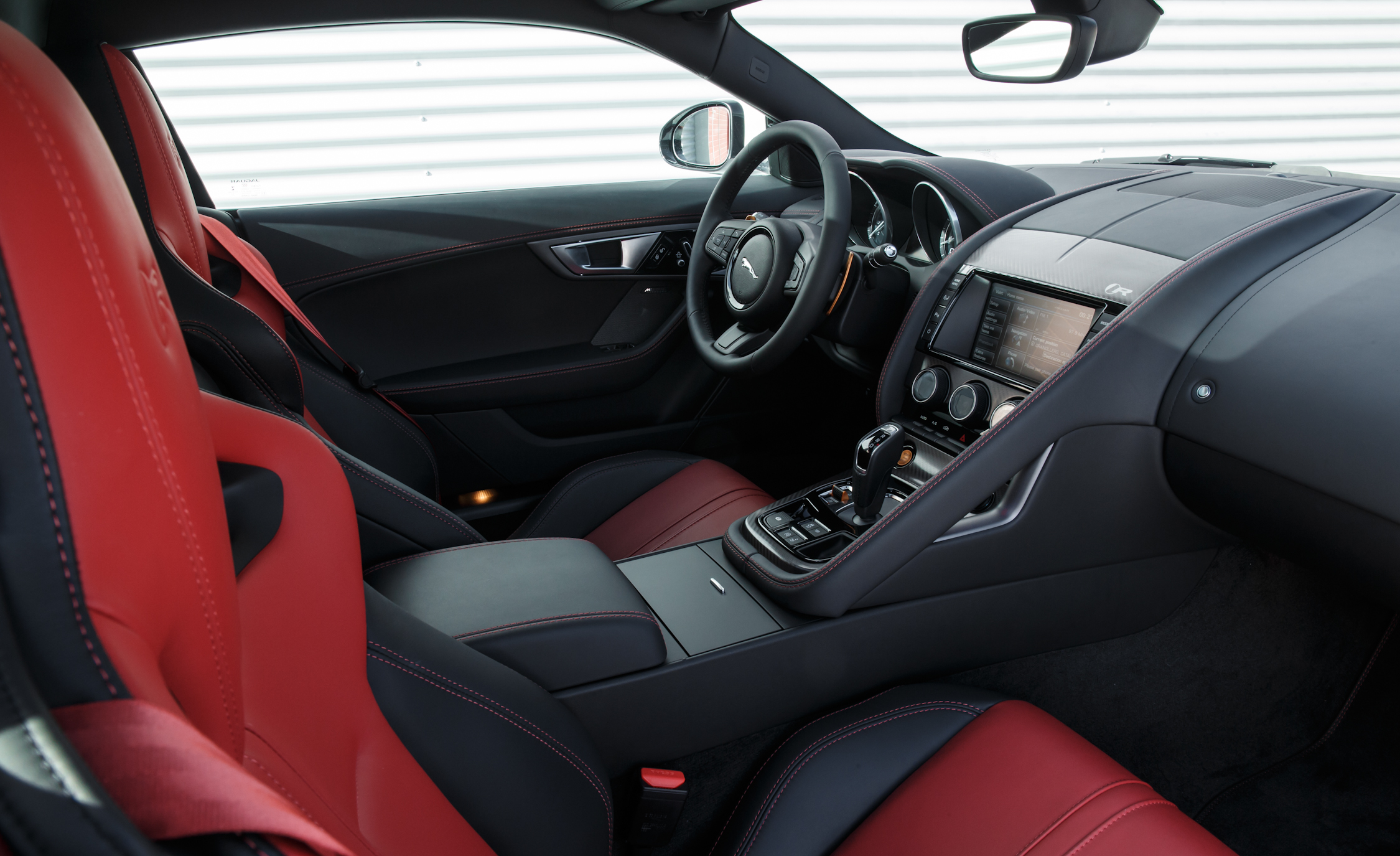 2015 Jaguar F Type R Coupe Interior (Photo 17 of 26)