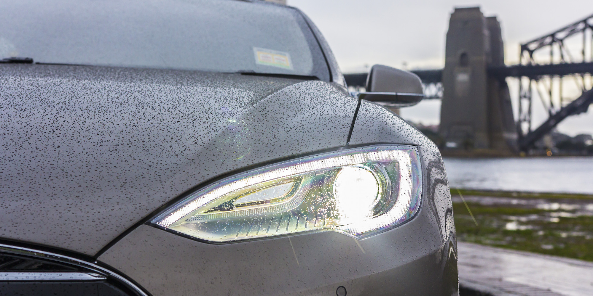 2015 Tesla Model S P85d Left Headlamp (Photo 30 of 37)