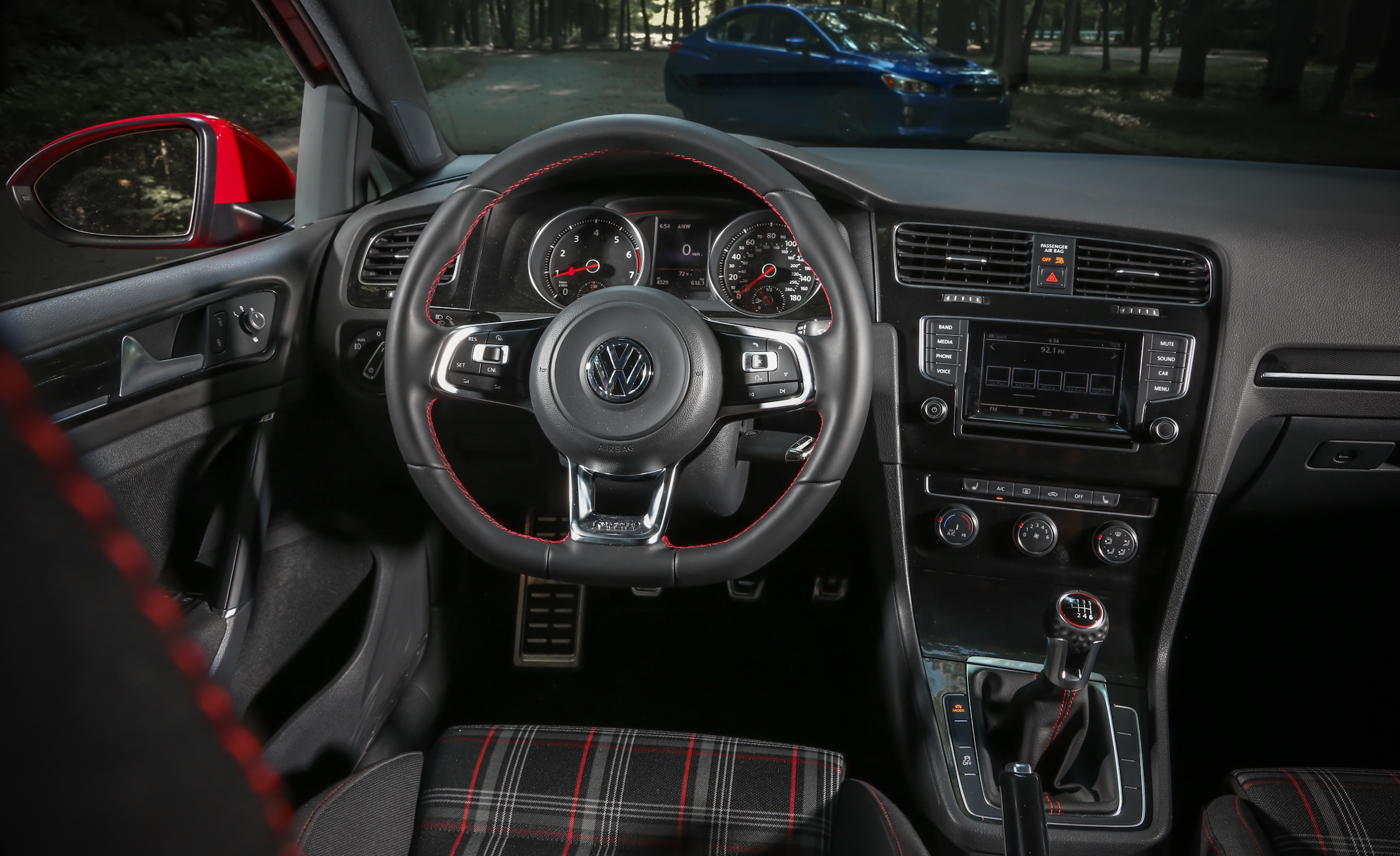2015 Volkswagen GTI 5 Door Interior (Photo 40 of 55)