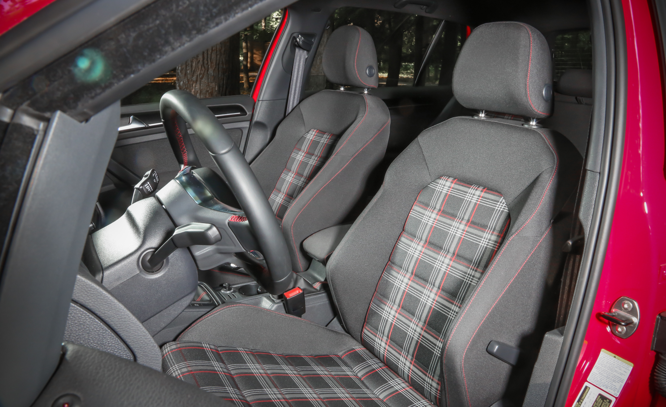 2015 Volkswagen GTI 5 Door Interior (Photo 41 of 55)
