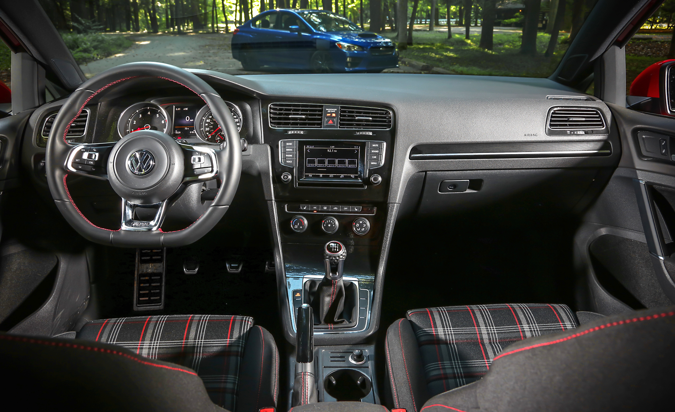 2015 Volkswagen GTI 5 Door Interior (Photo 42 of 55)