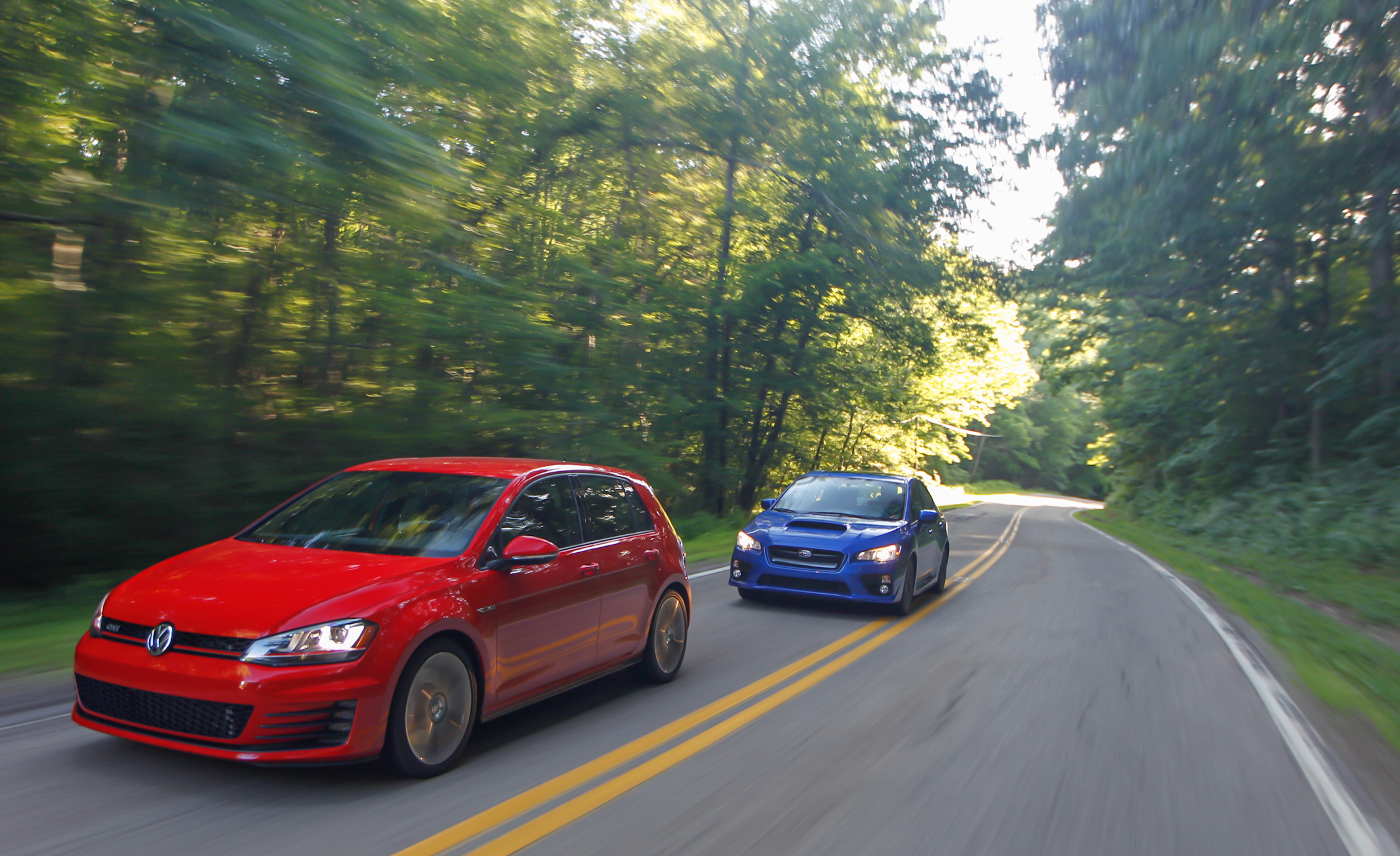 2015 Volkswagen GTI 5 Door And 2015 Subaru WRX (Photo 38 of 55)