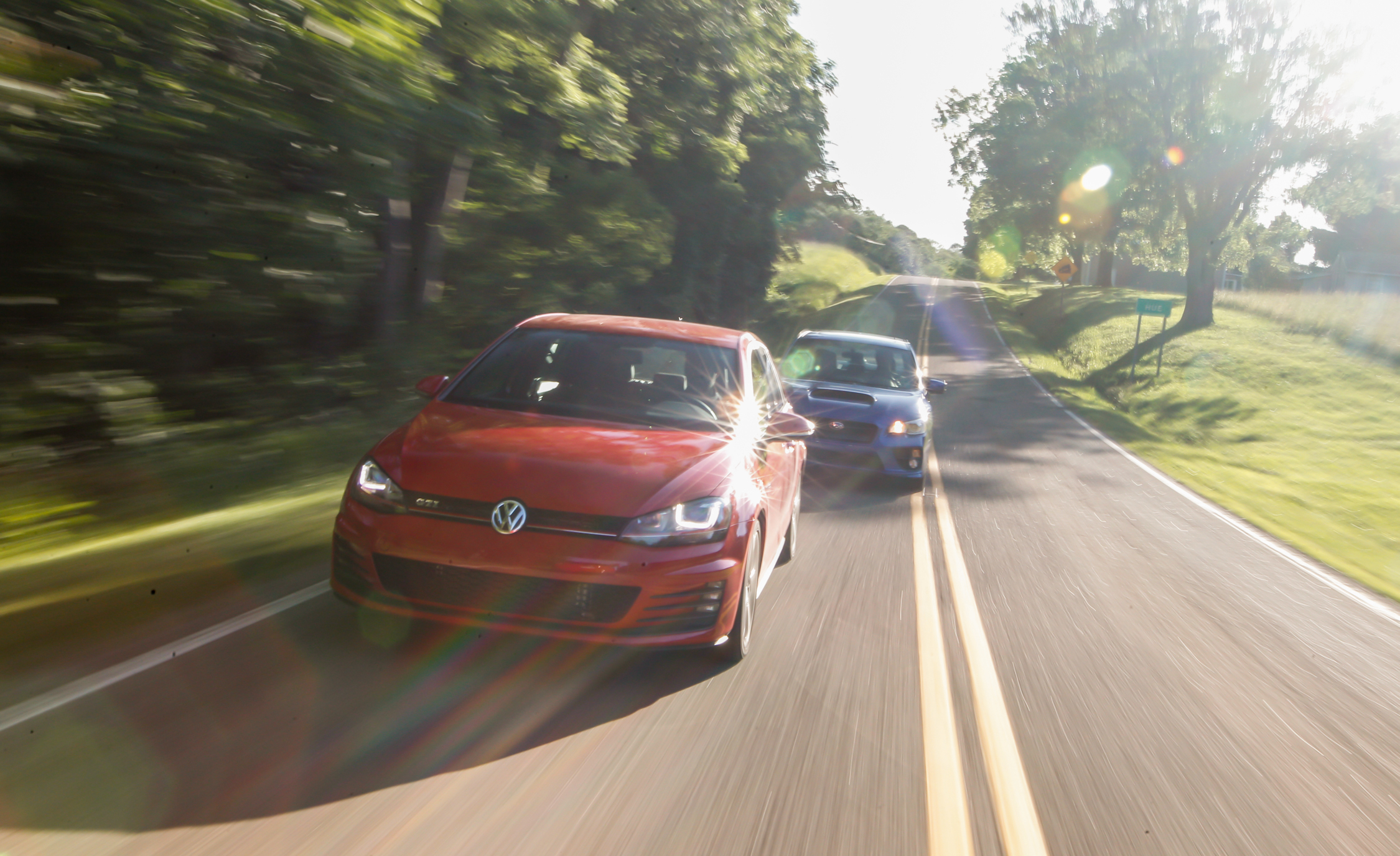2015 Volkswagen GTI 5 Door And 2015 Subaru WRX (Photo 37 of 55)