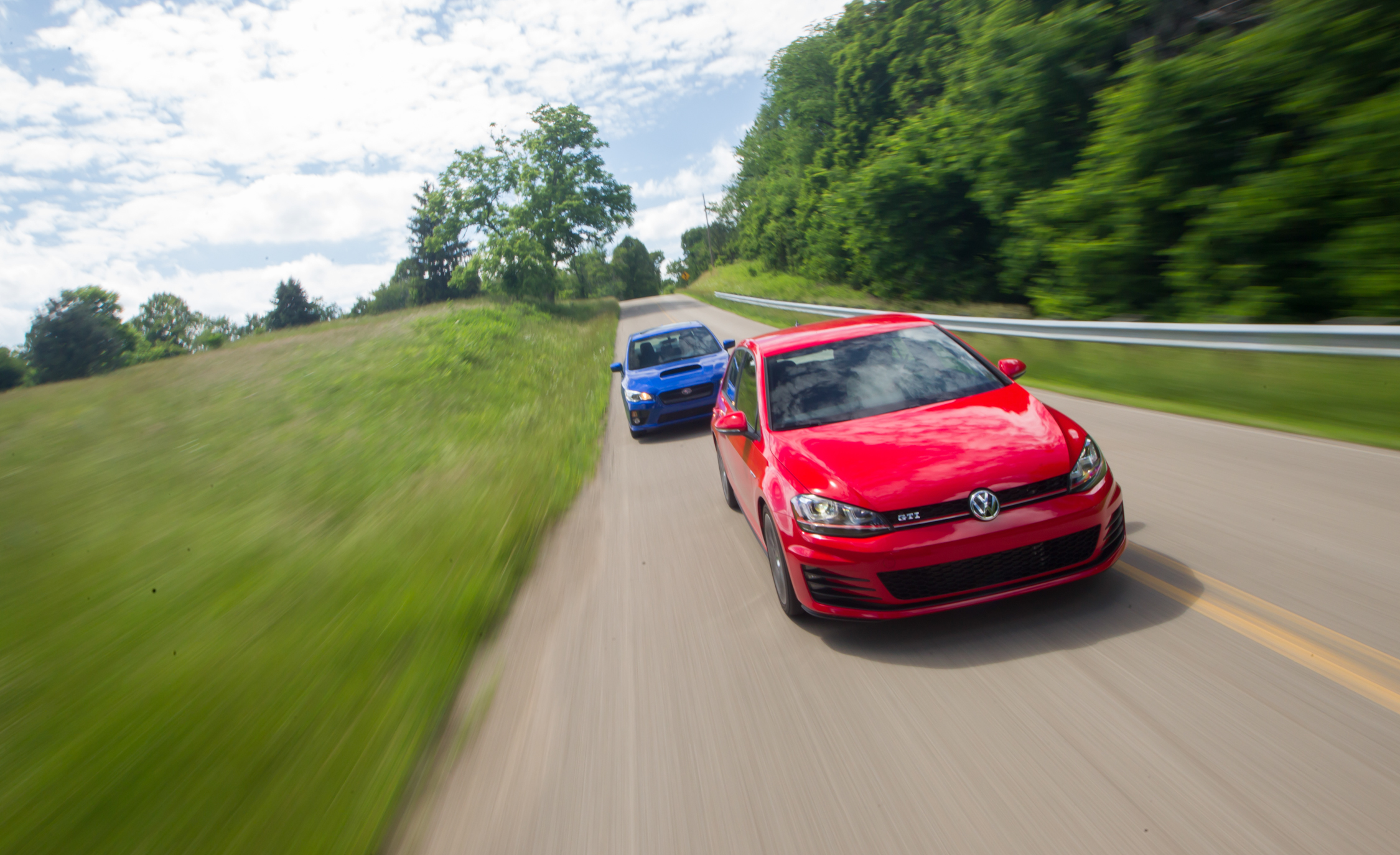2015 Subaru WRX And 2015 Volkswagen GTI 5 Door (Photo 2 of 55)