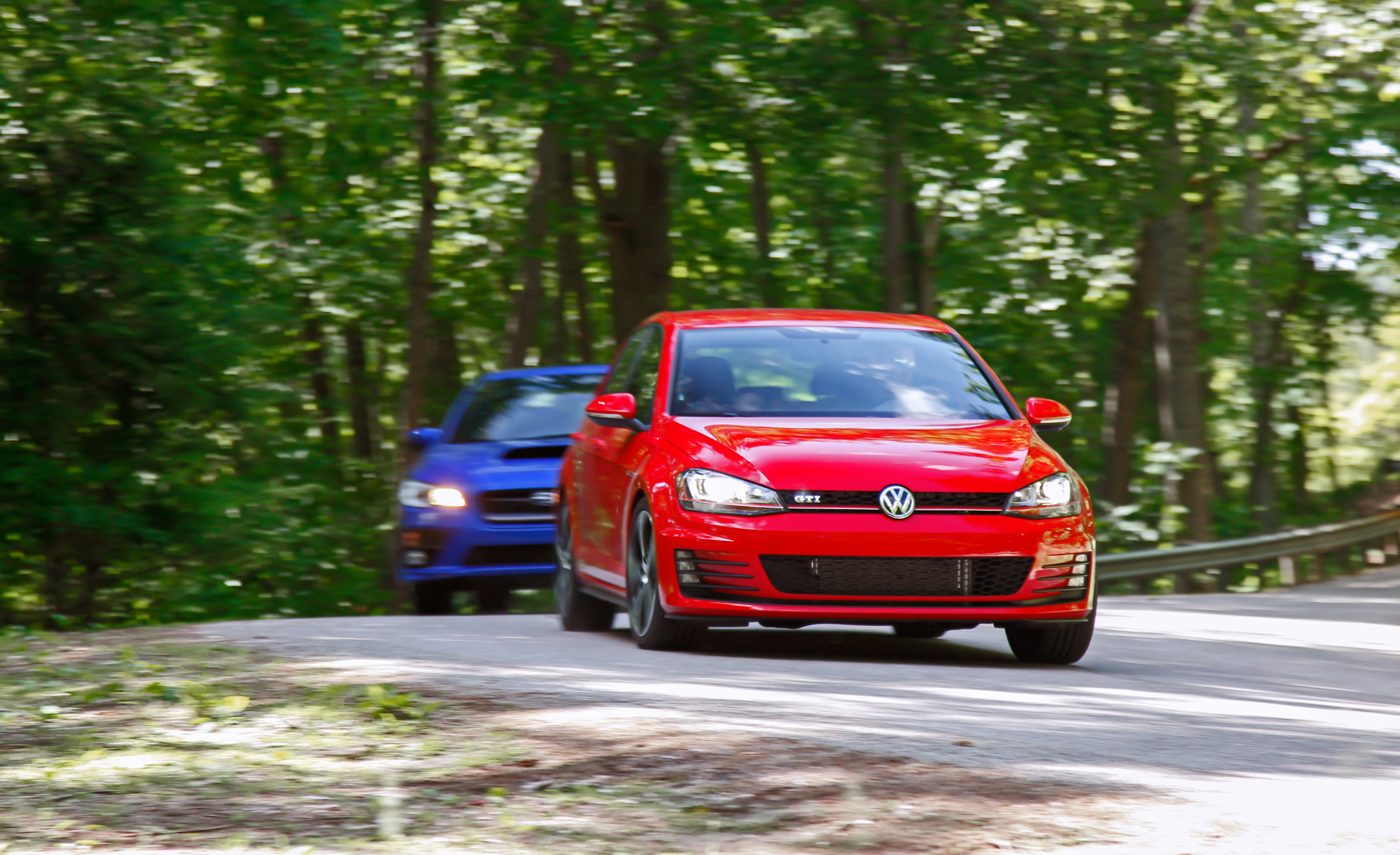 2015 Subaru WRX And 2015 Volkswagen GTI 5 Door (Photo 3 of 55)
