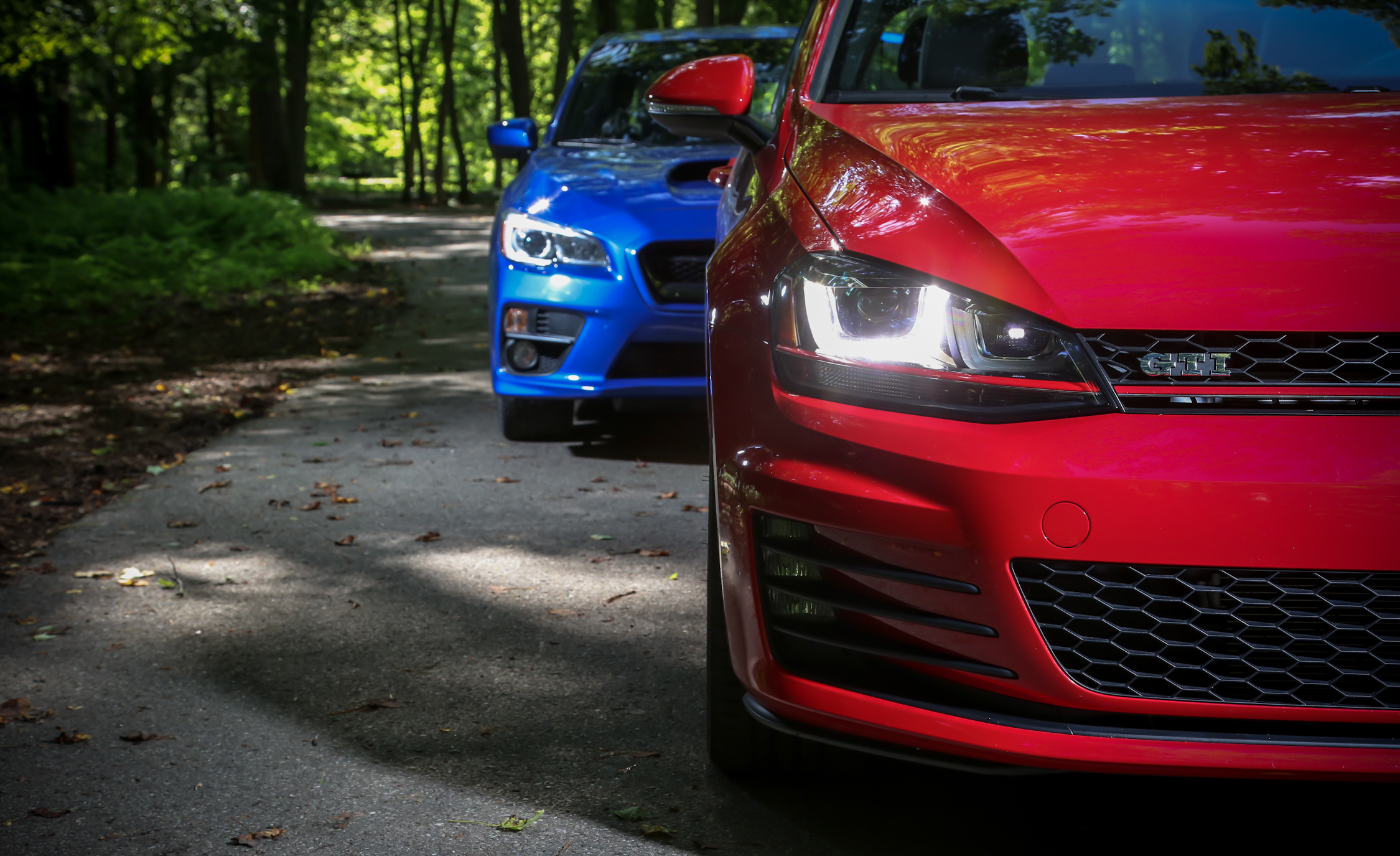 2015 Subaru WRX And 2015 Volkswagen GTI 5 Door (Photo 4 of 55)
