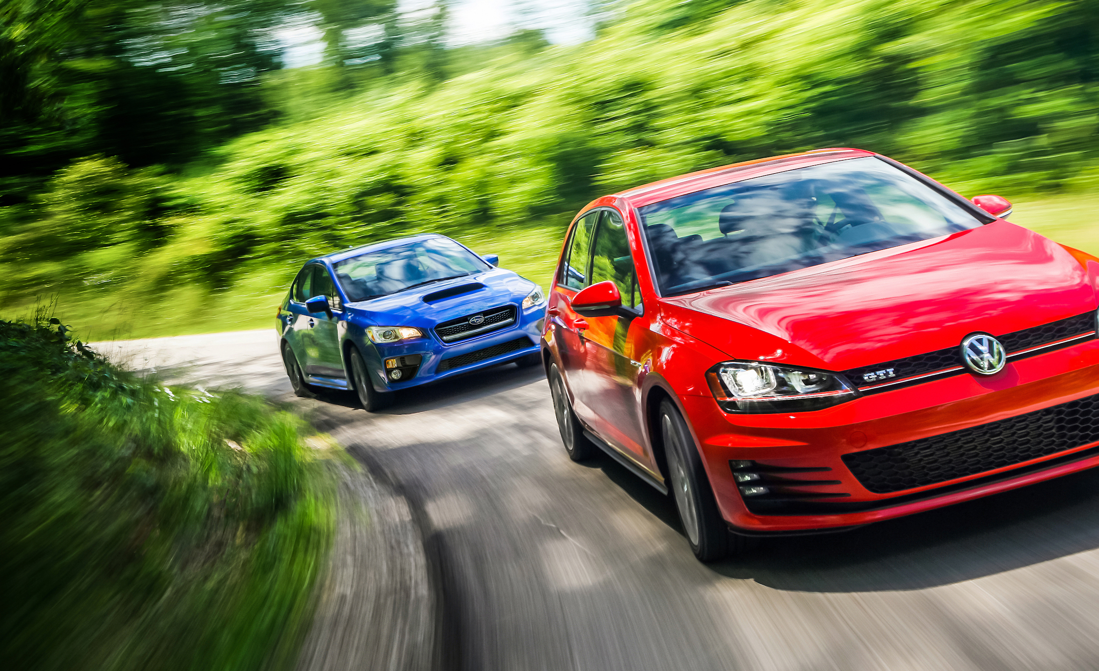 2015 Subaru WRX And 2015 Volkswagen GTI 5 Door (Photo 5 of 55)