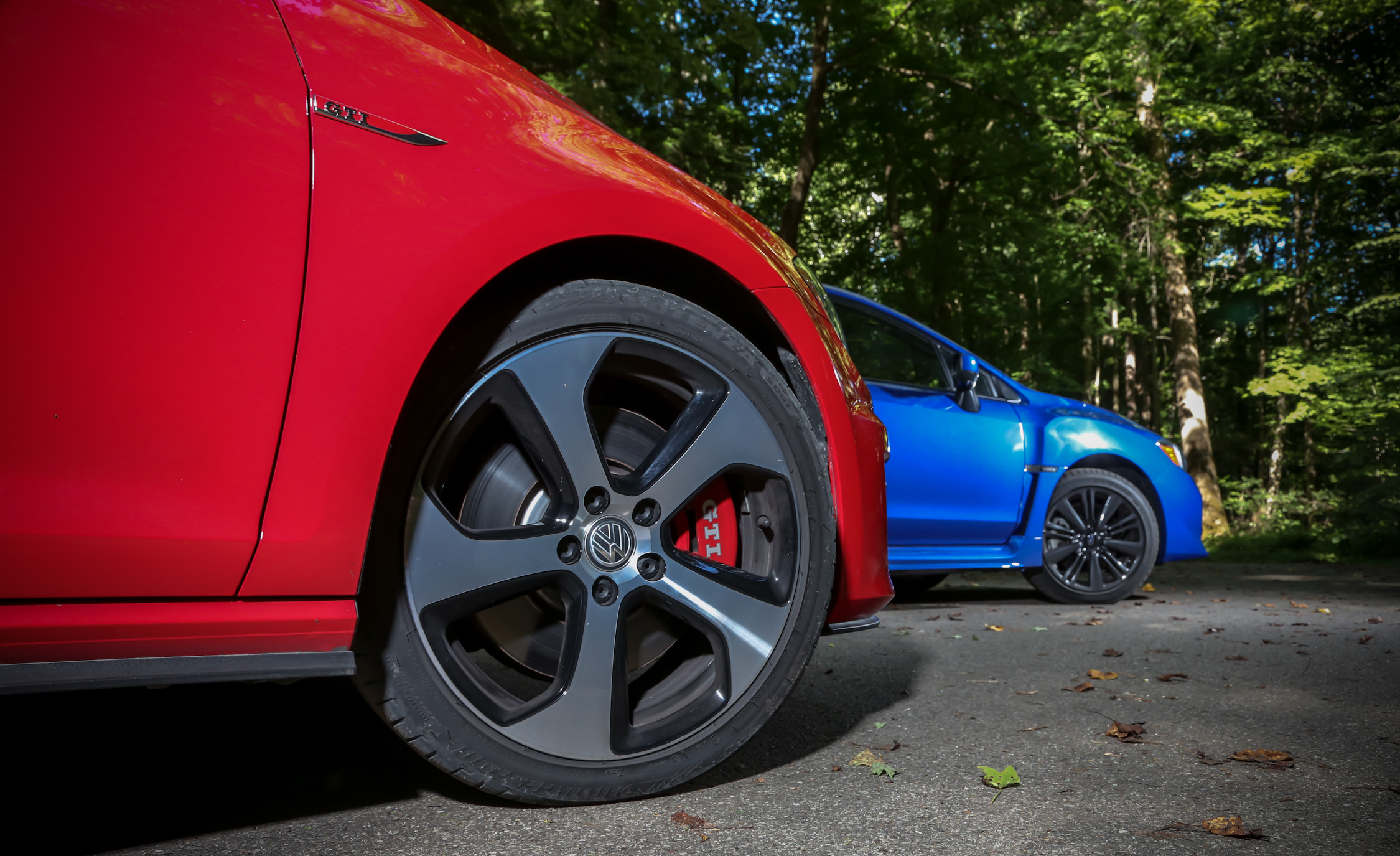 2015 Volkswagen GTI 5 Door And 2015 Subaru WRX (Photo 36 of 55)