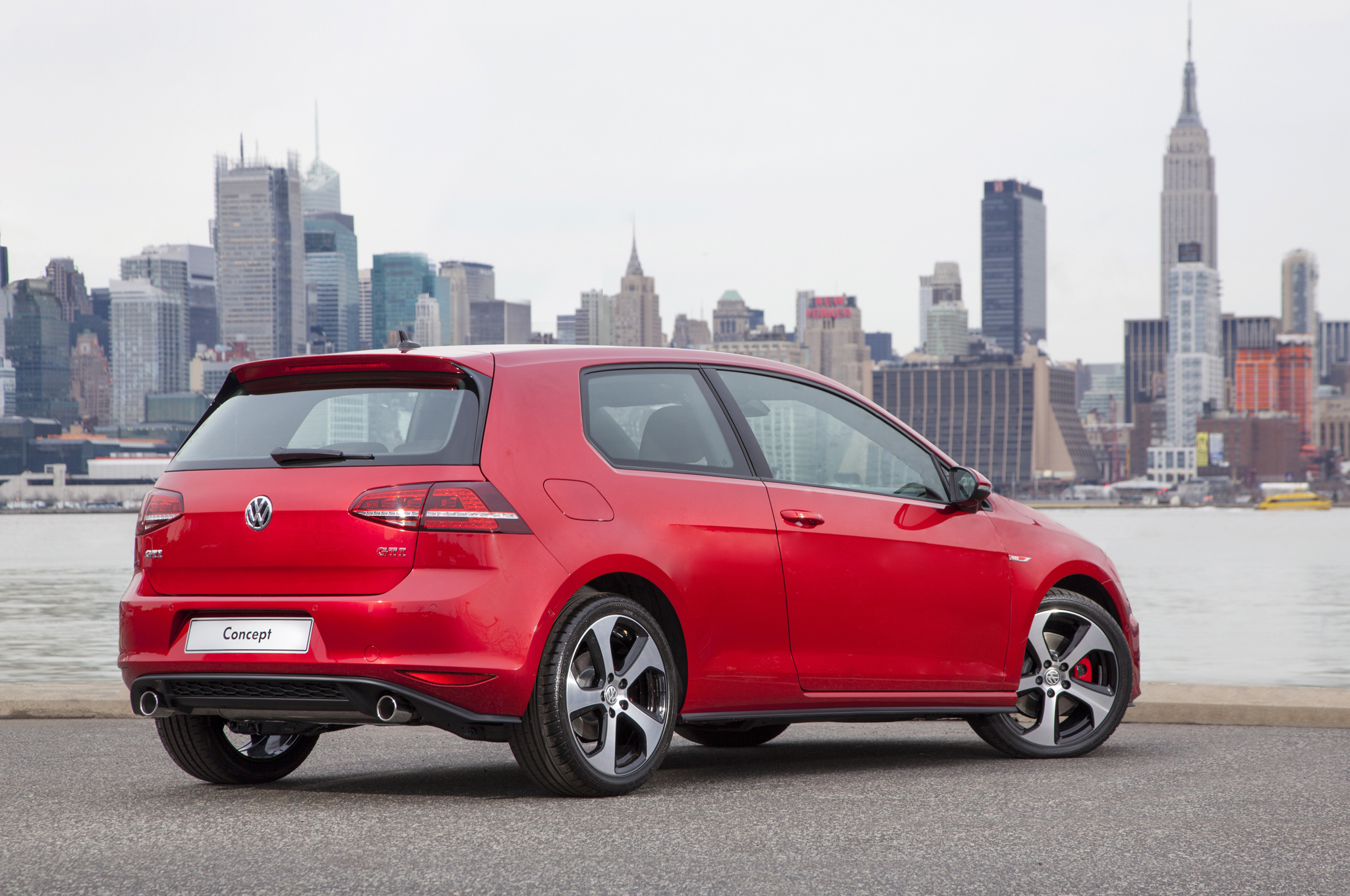 2015 Volkswagen Golf Gti Rear Side (Photo 53 of 55)