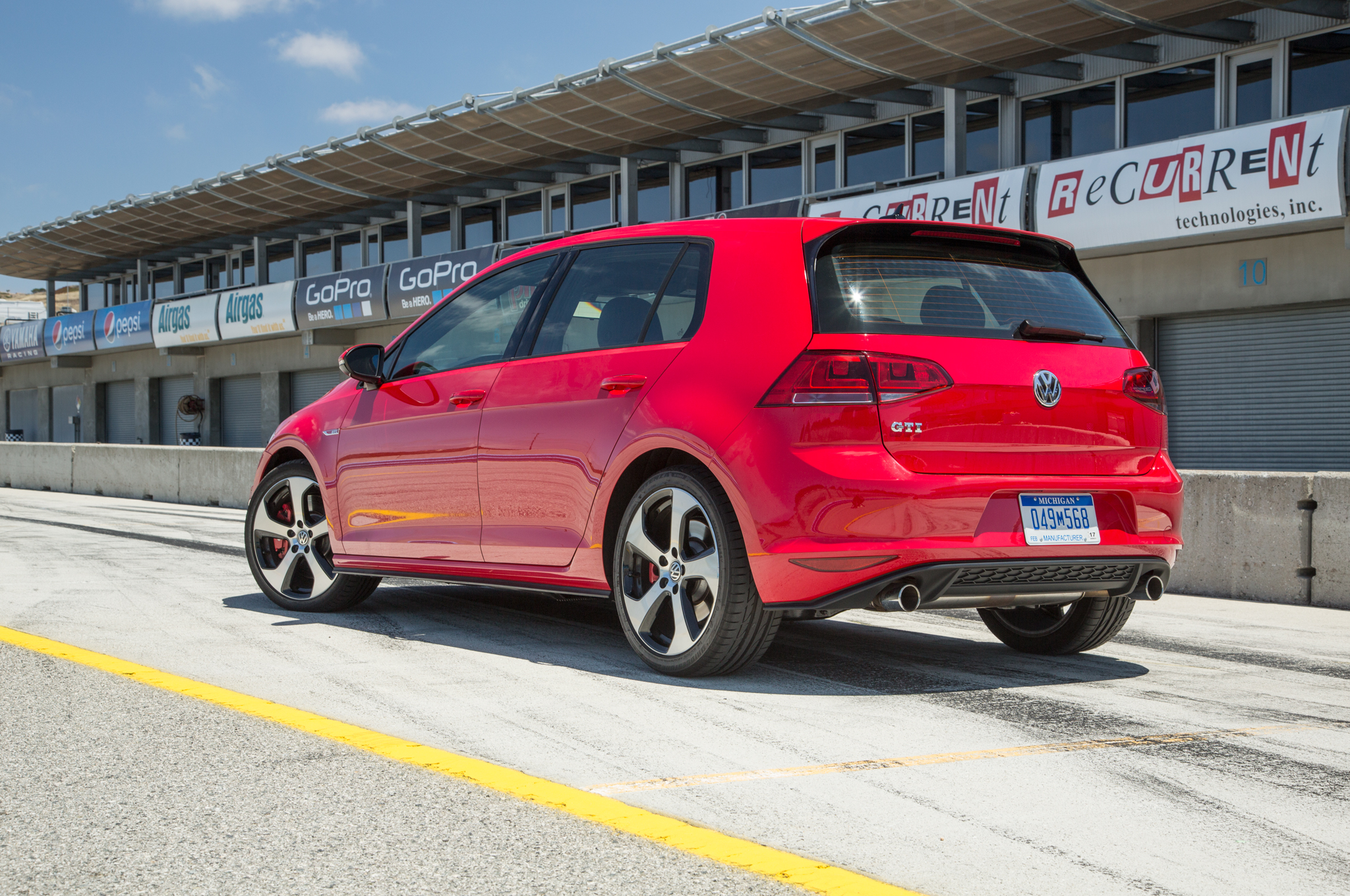 2015 Volkswagen Golf Gti Red (Photo 54 of 55)