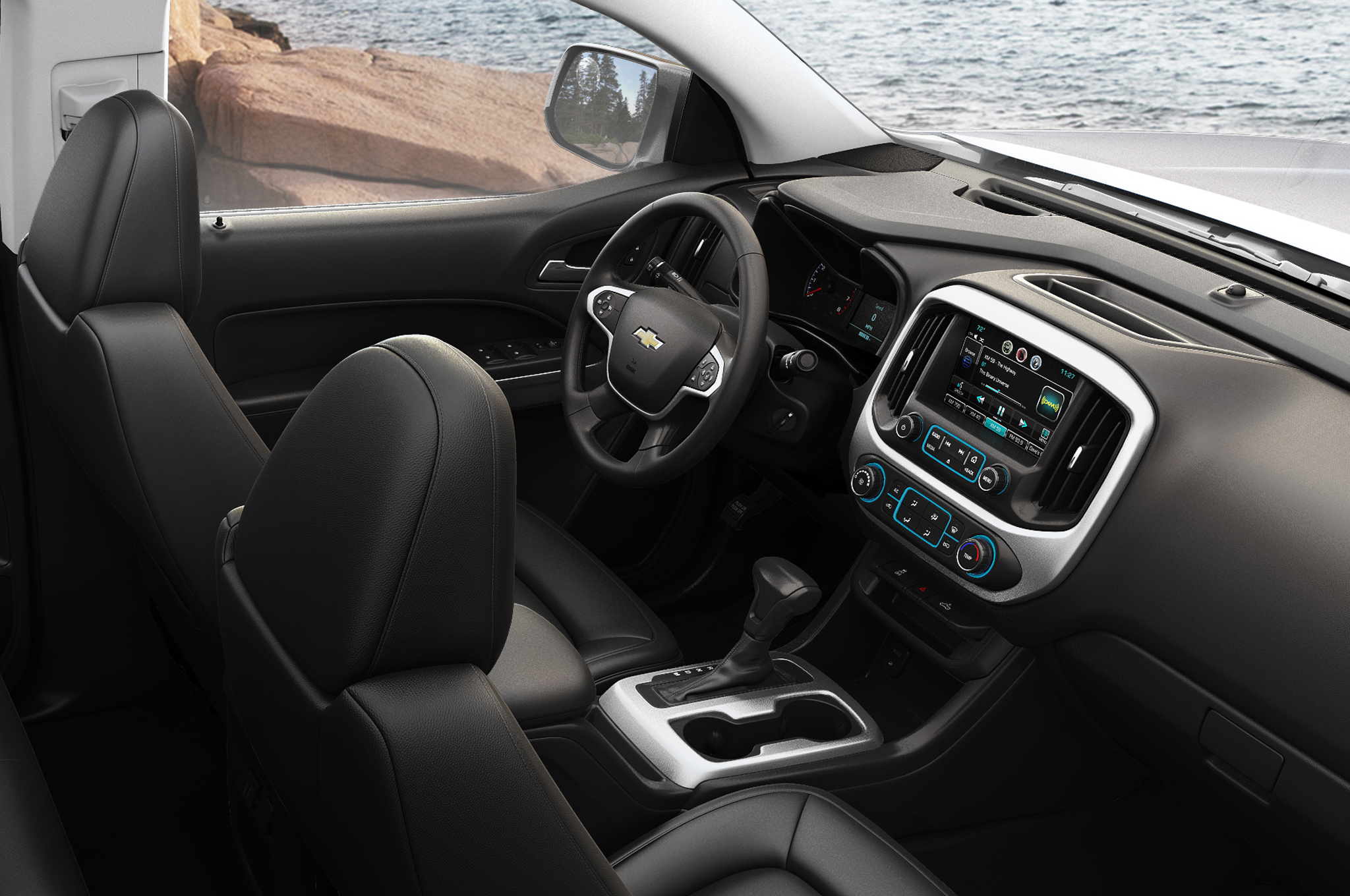 2015 Chevrolet Colorado Cockpit Dimensions (Photo 1 of 8)
