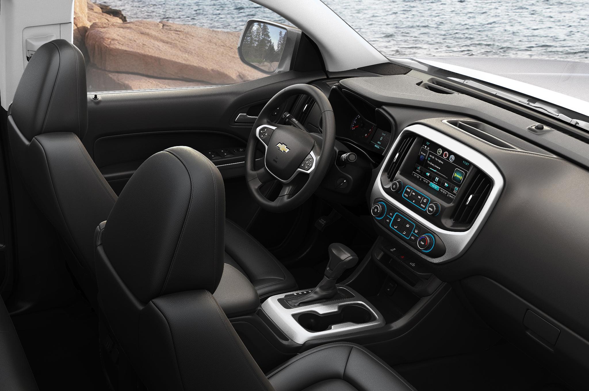 2015 Chevrolet Colorado Cockpit Dimensions (View 8 of 8)