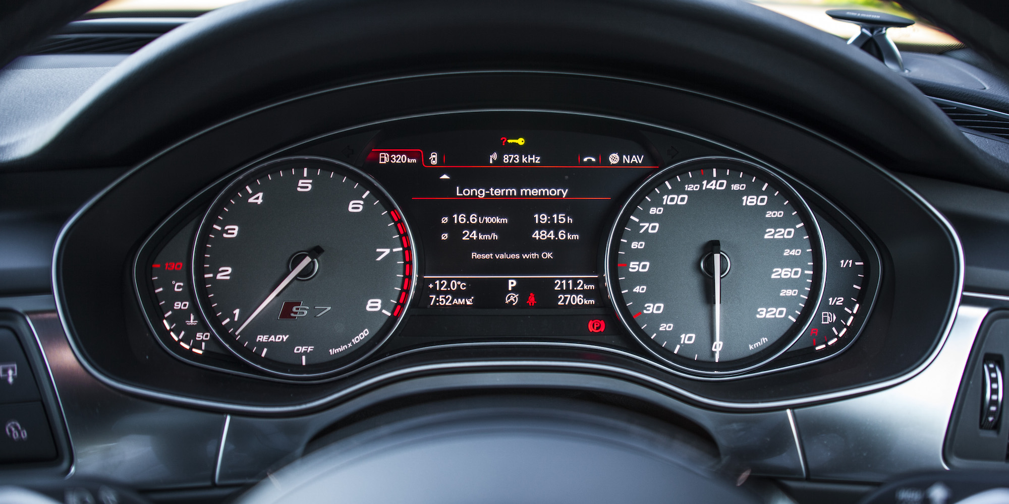 2016 Audi S7 Speedometer (Photo 25 of 30)