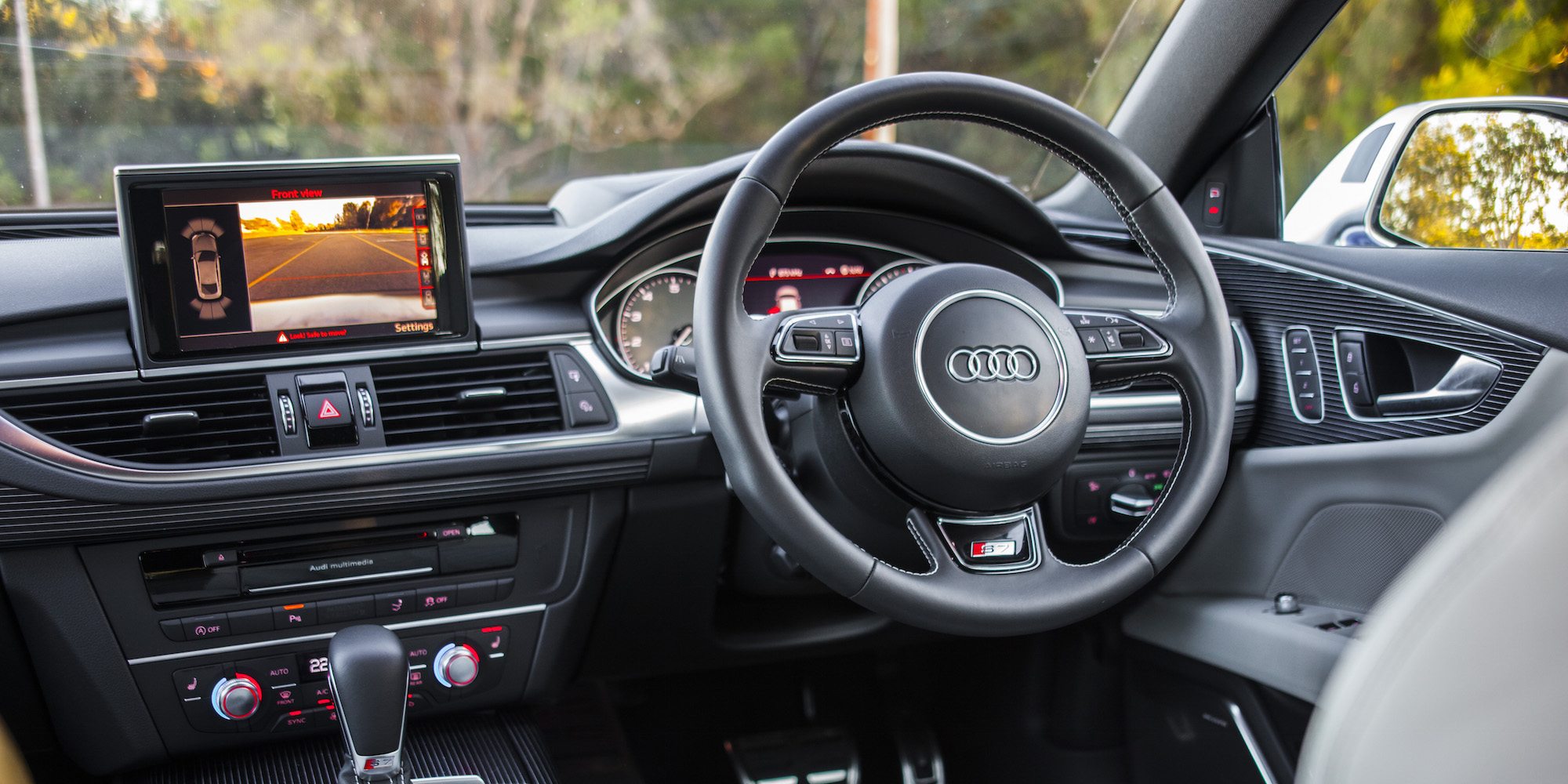 2016 Audi S7 Steering (Photo 26 of 30)