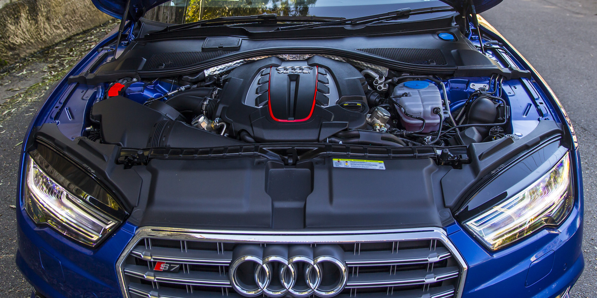 2016 Audi S7 Twin Turbocharged V 8 Engine (Photo 29 of 30)