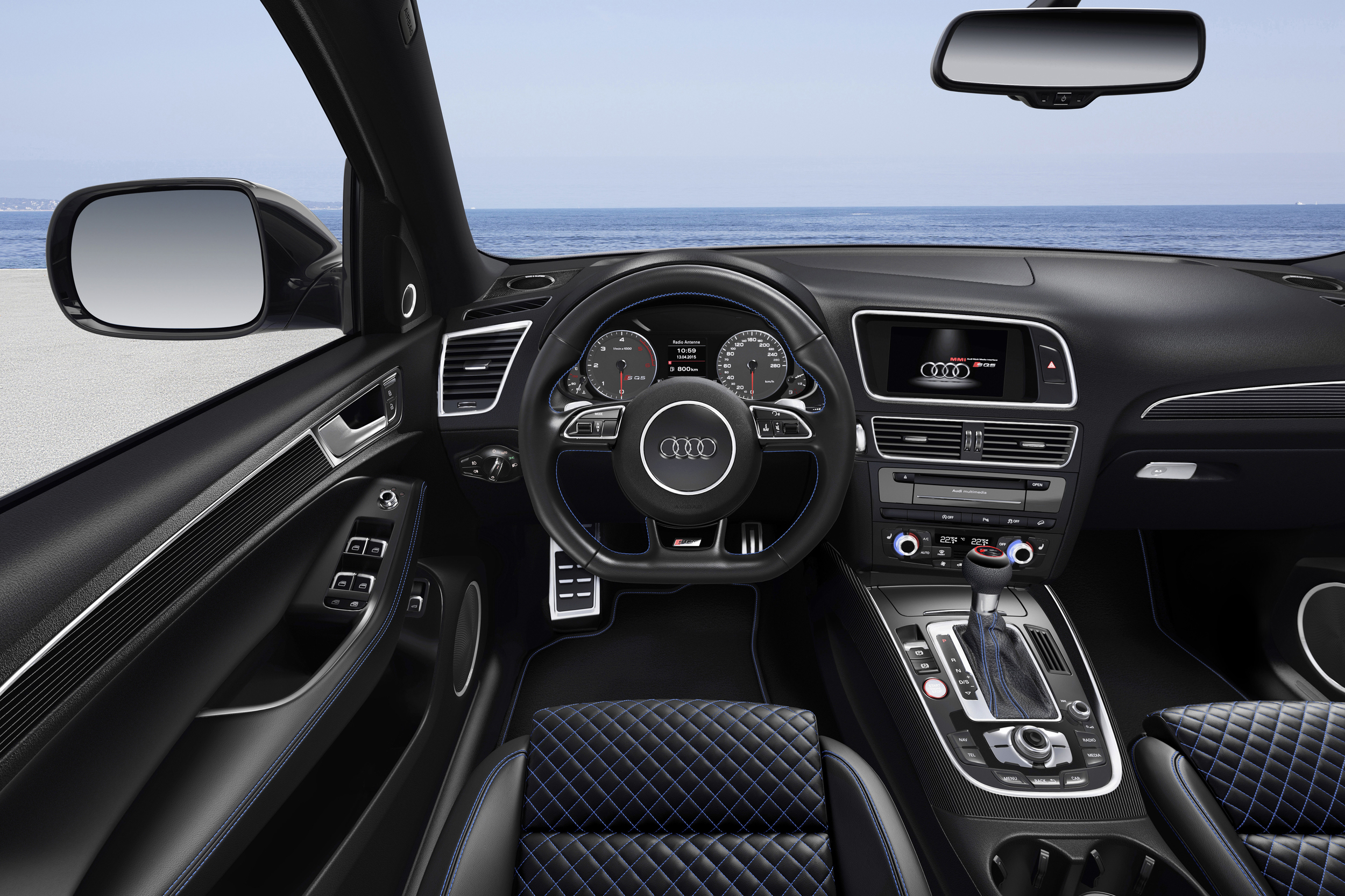 2016 Audi Sq5 Tdi Plus Cockpit Interior (Photo 3 of 9)