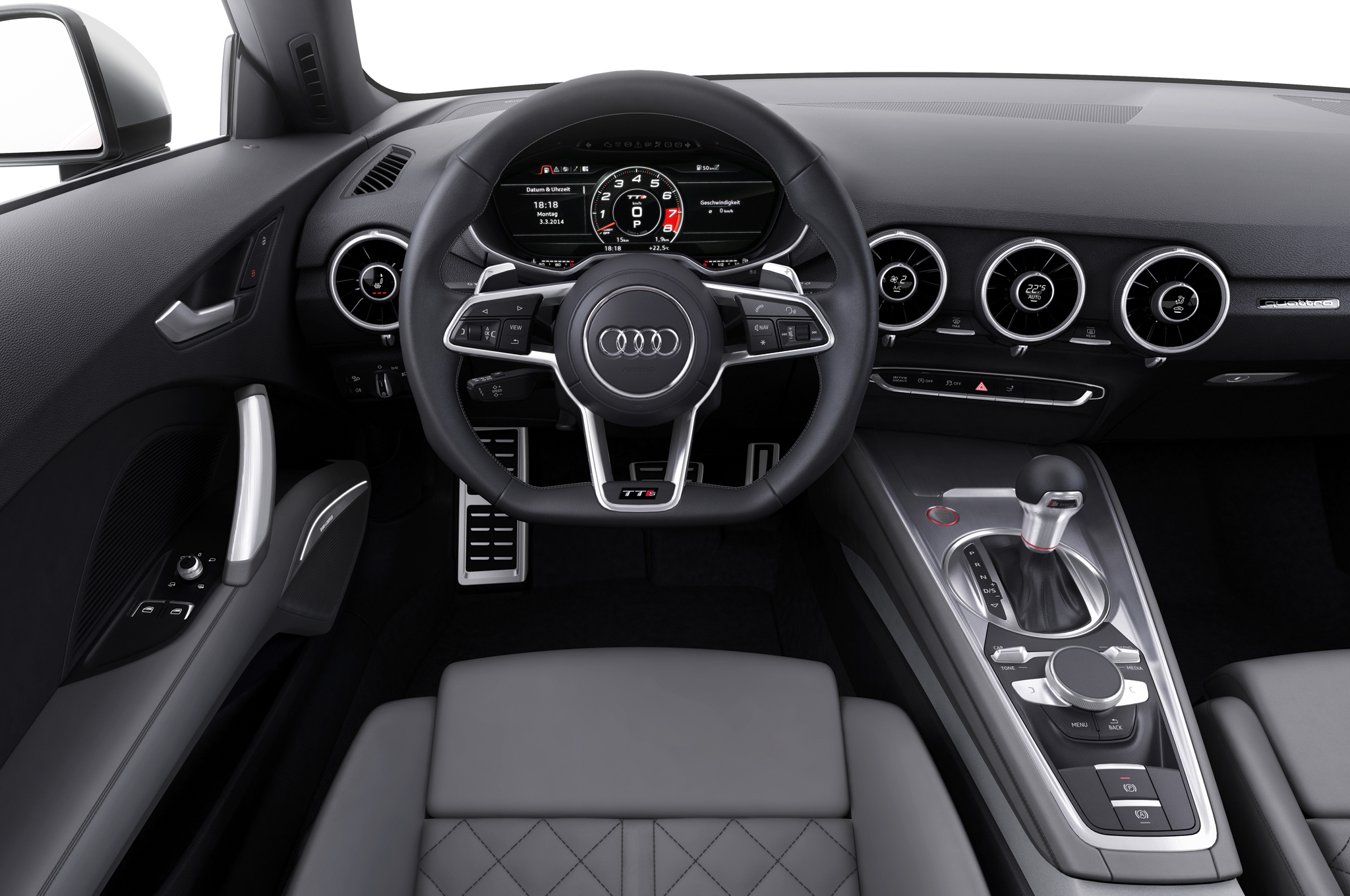 2016 Audi Tt Interior Cockpit And Dashboard (Photo 35 of 41)