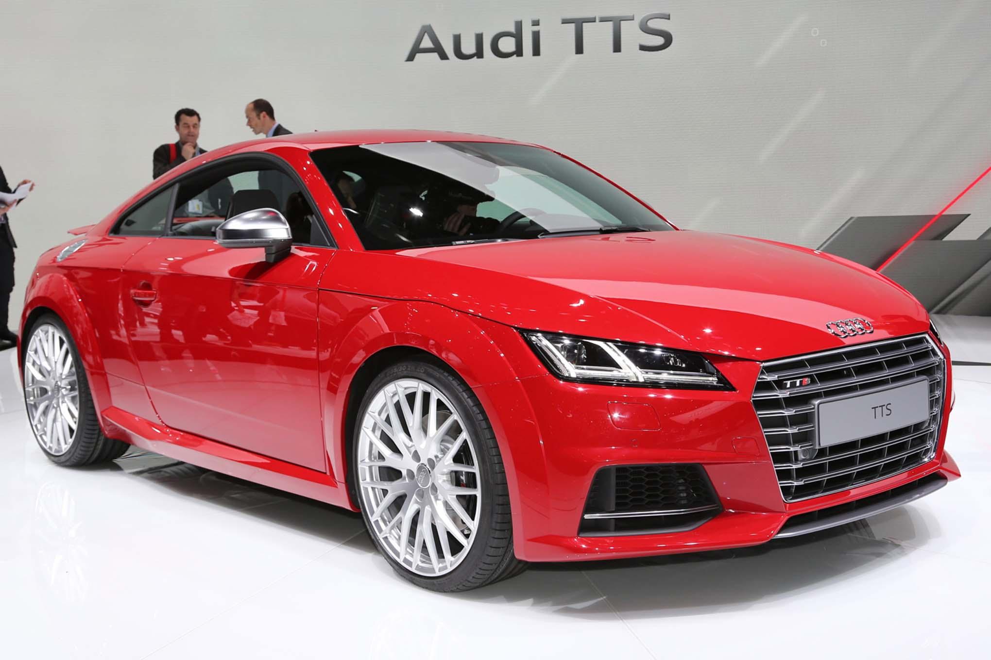 2016 Audi Tts Exterior Profile (View 28 of 41)