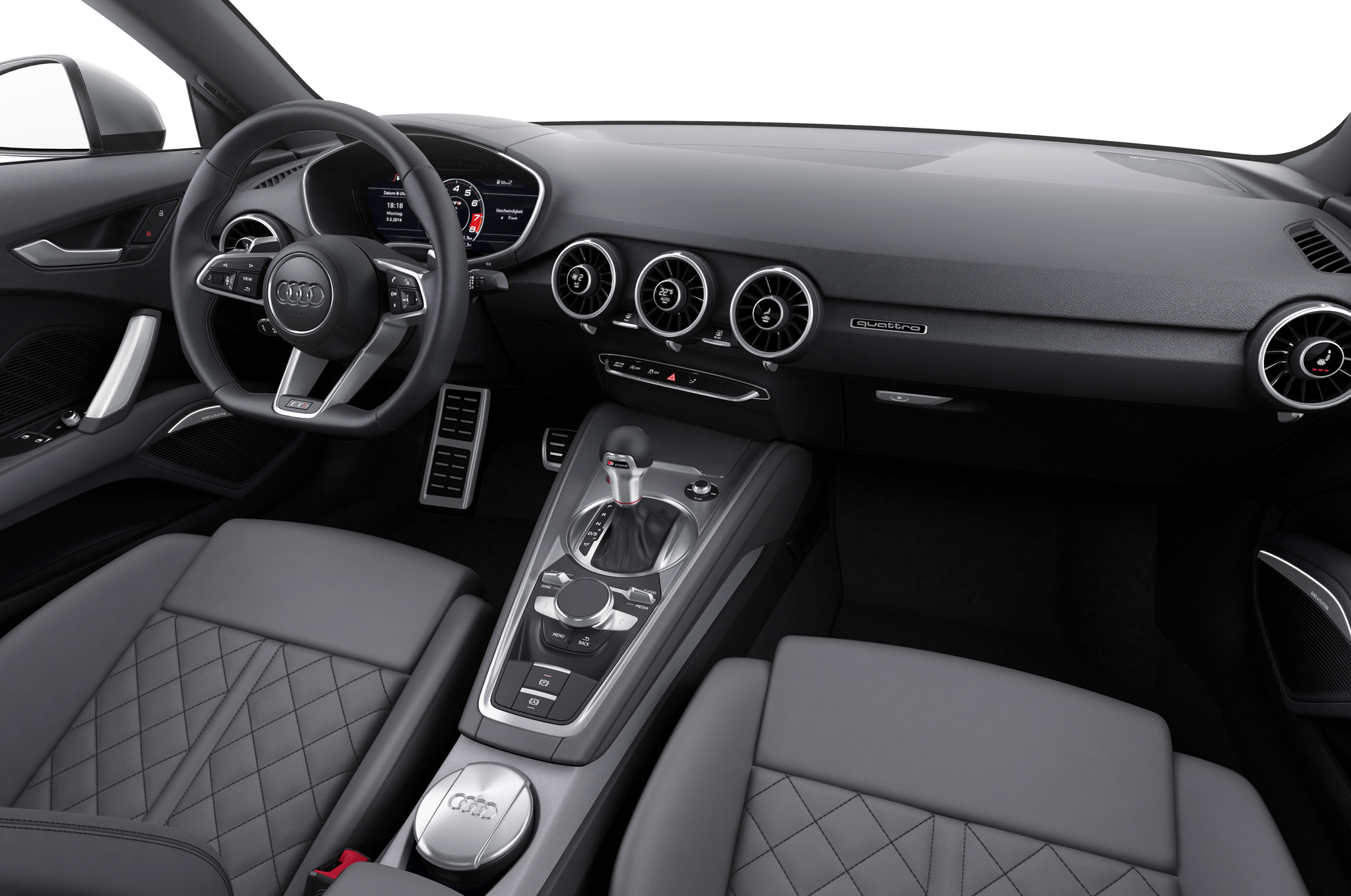 2016 Audi Tts Interior Dashboard (View 32 of 41)