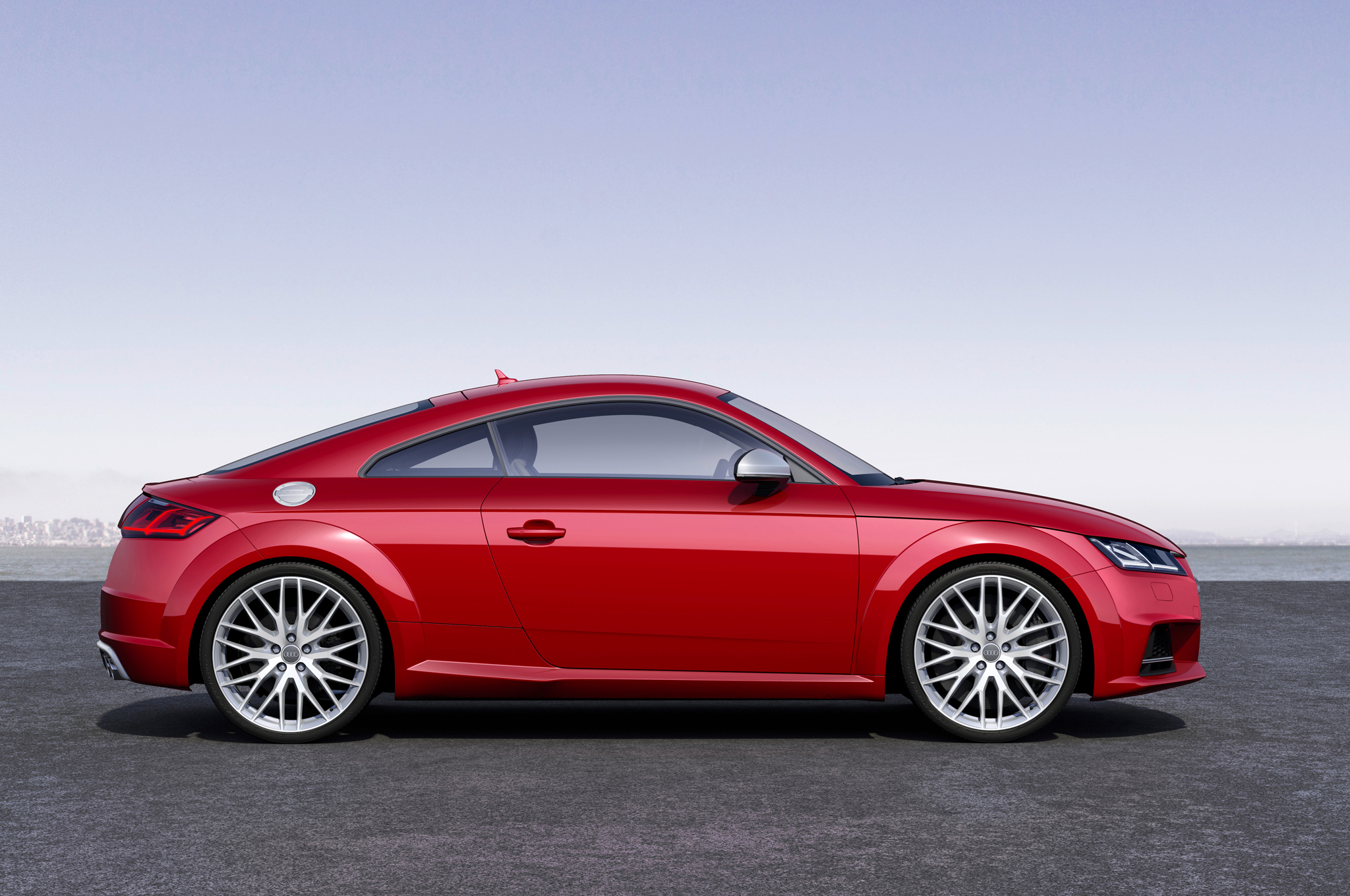 2016 Audi Tts Side Exterior View (Photo 39 of 41)