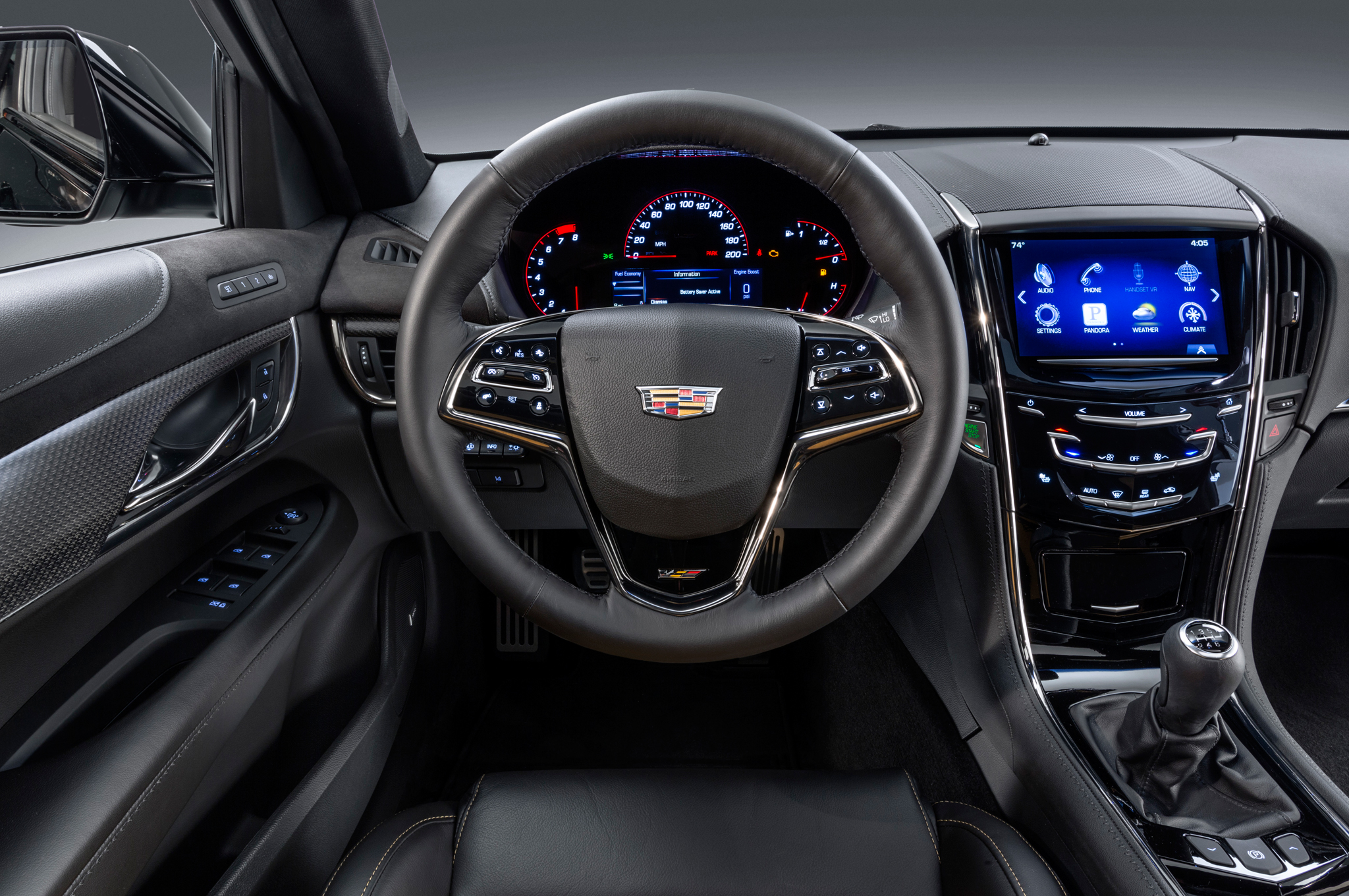 2016 Cadillac Ats V Cockpit And Speedometer (View 14 of 18)