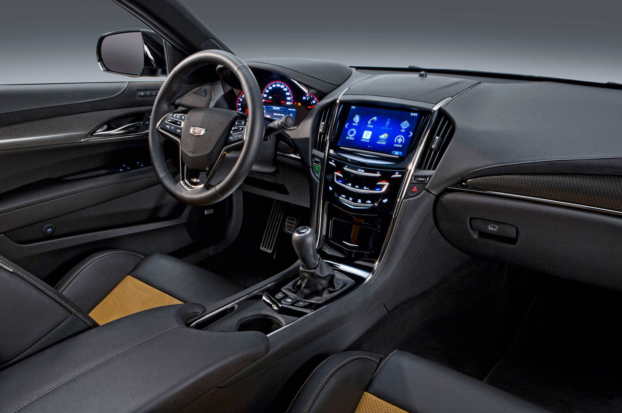 2016 Cadillac Ats V Interior Dashboard (View 4 of 18)