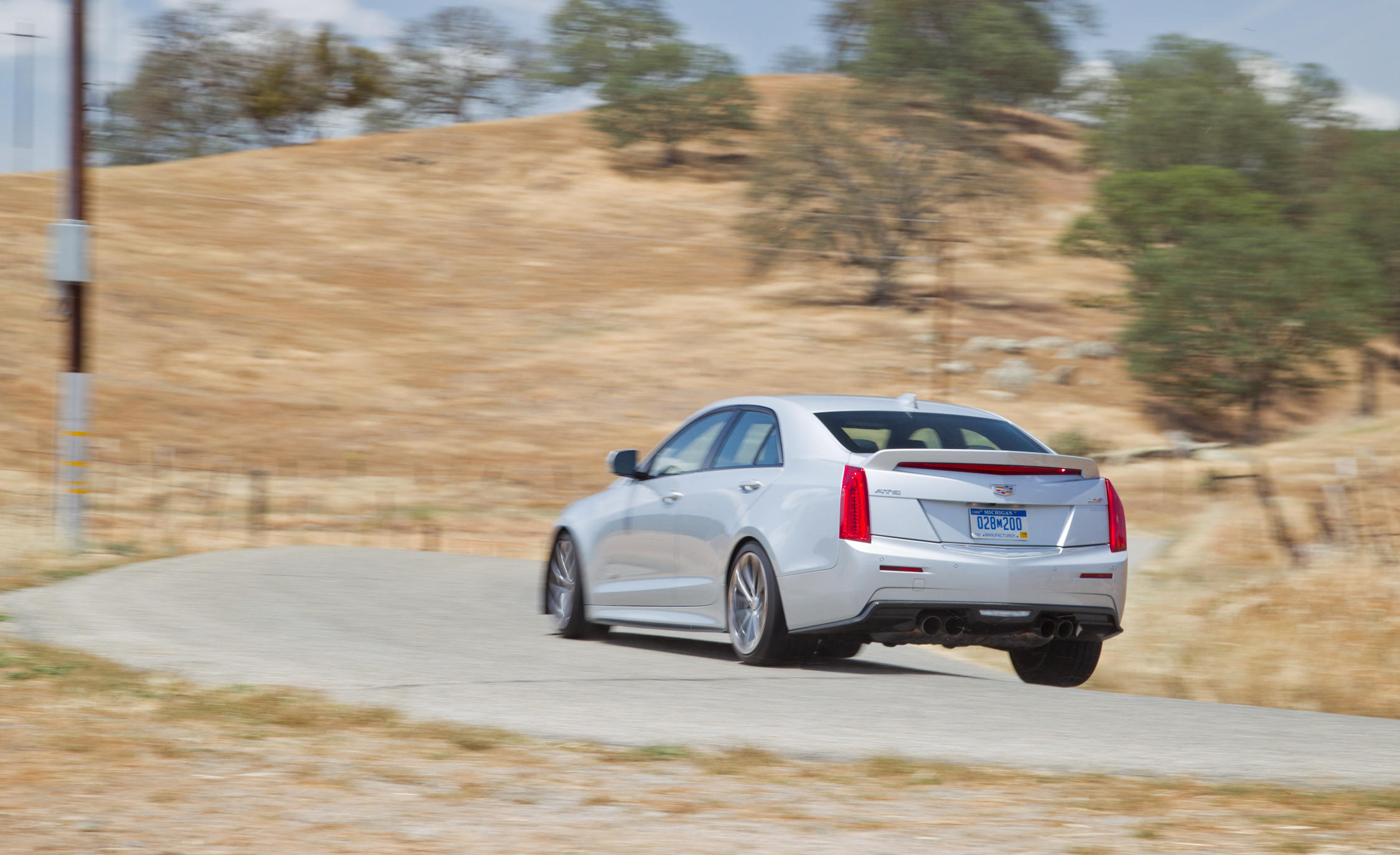 2016 Cadillac ATS V (View 8 of 18)