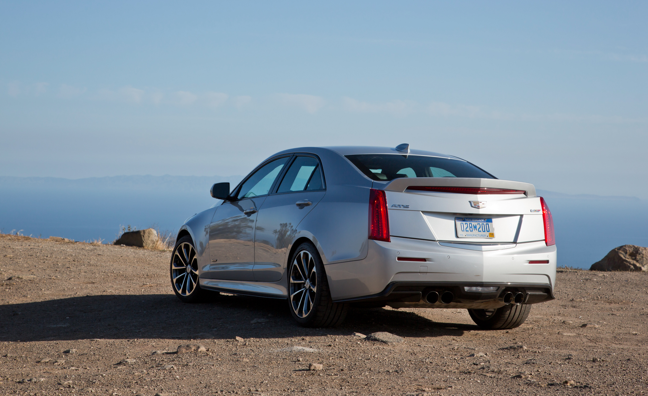 2016 Cadillac ATS V (View 9 of 18)