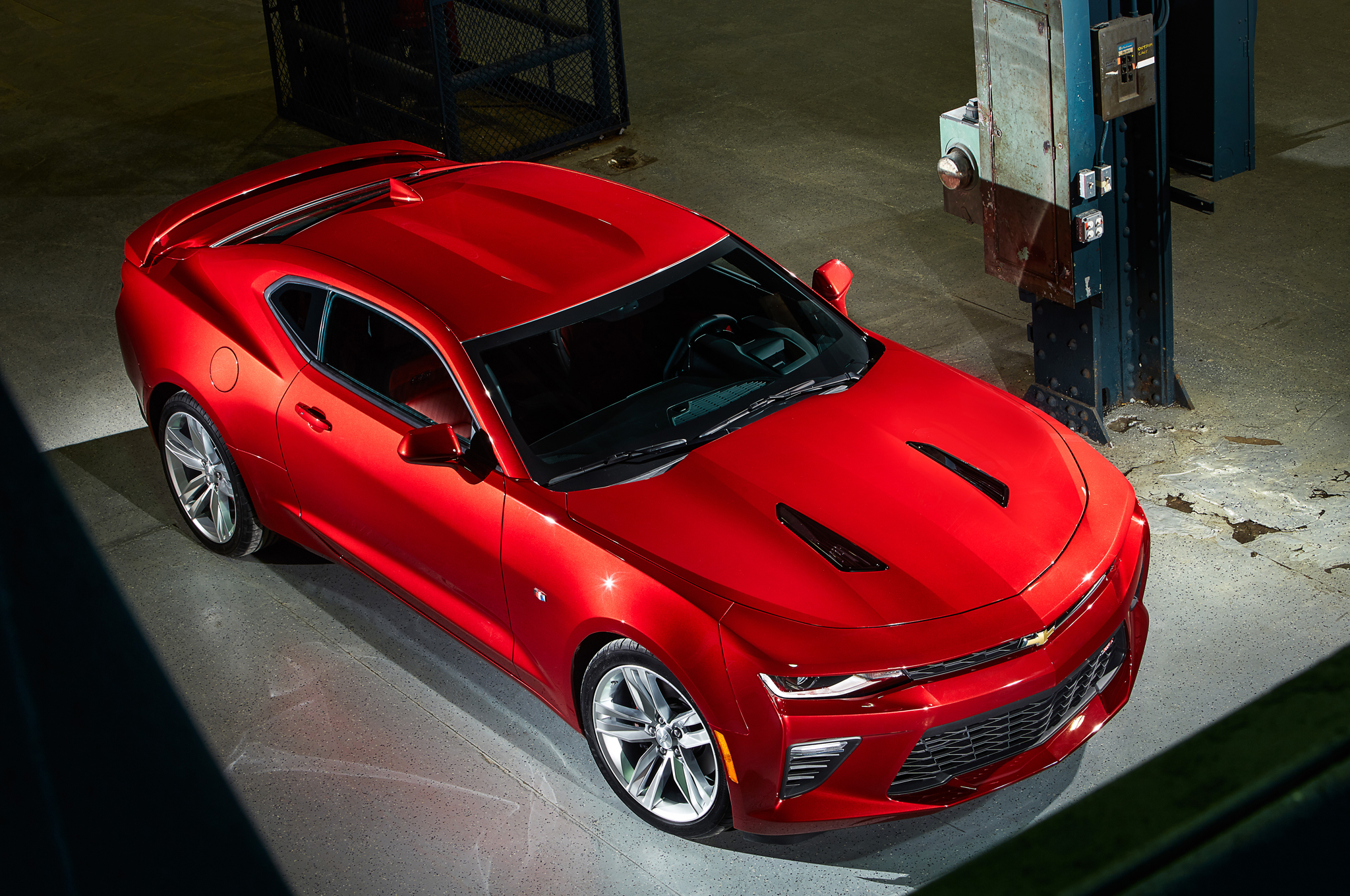 2016 Chevrolet Camaro Ss Exterior (Photo 47 of 54)