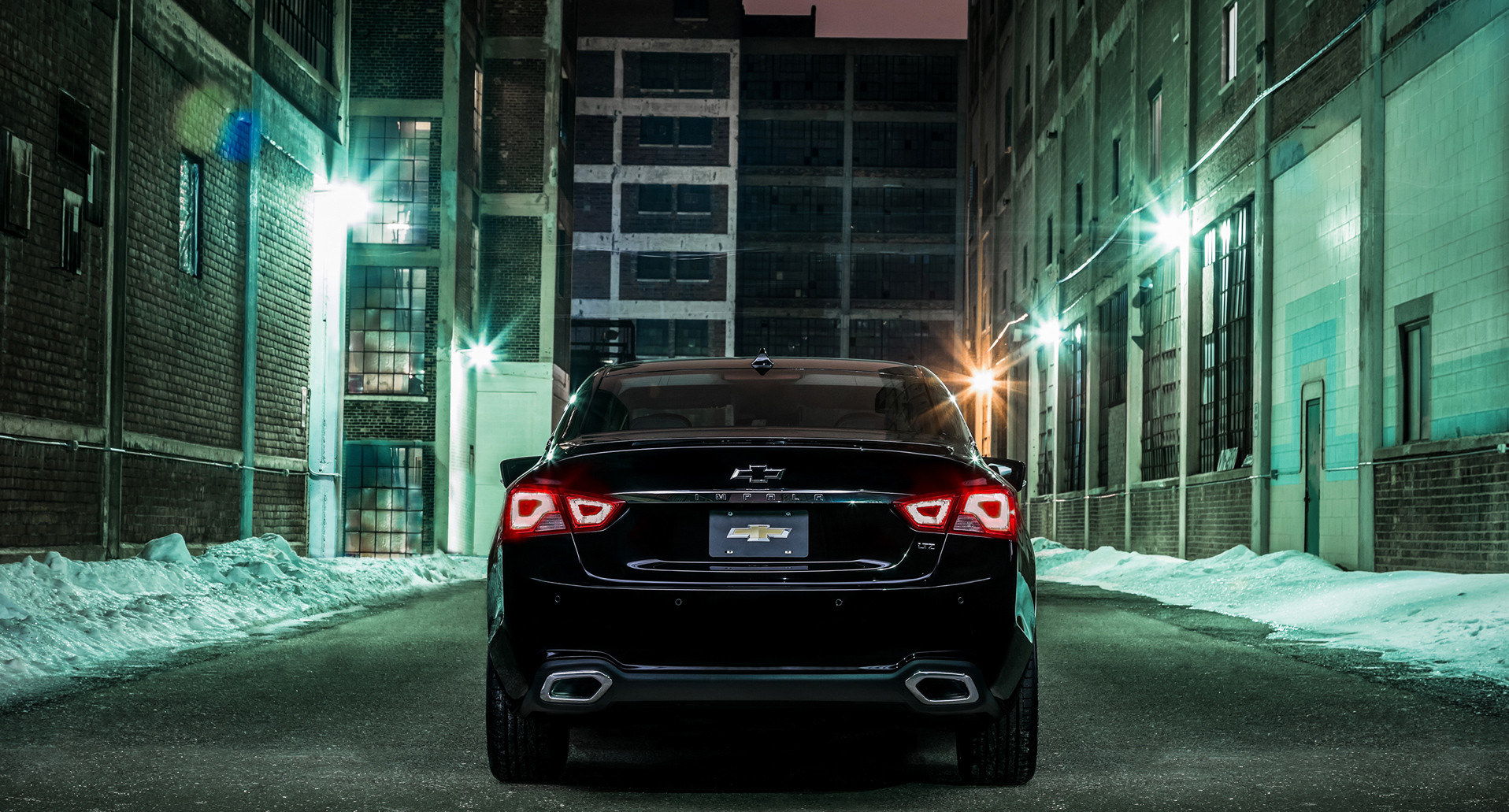 2016 Chevrolet Impala Midnight Edition Rear Photo (View 11 of 11)