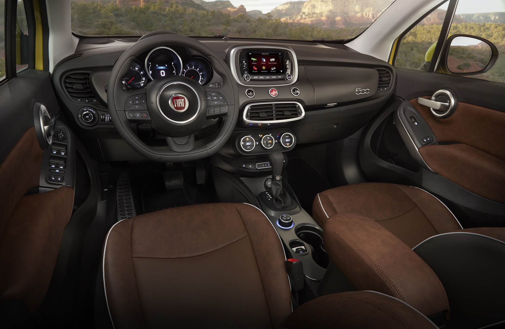 2016 Fiat 500X Trekking Plus (Photo 49 of 66)