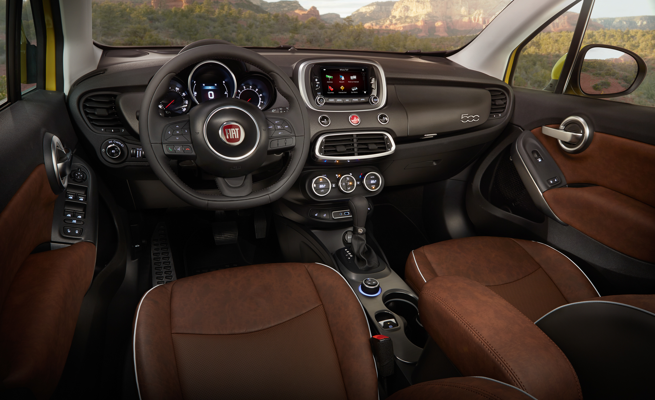 2016 Fiat 500X Trekking Plus (Photo 58 of 66)