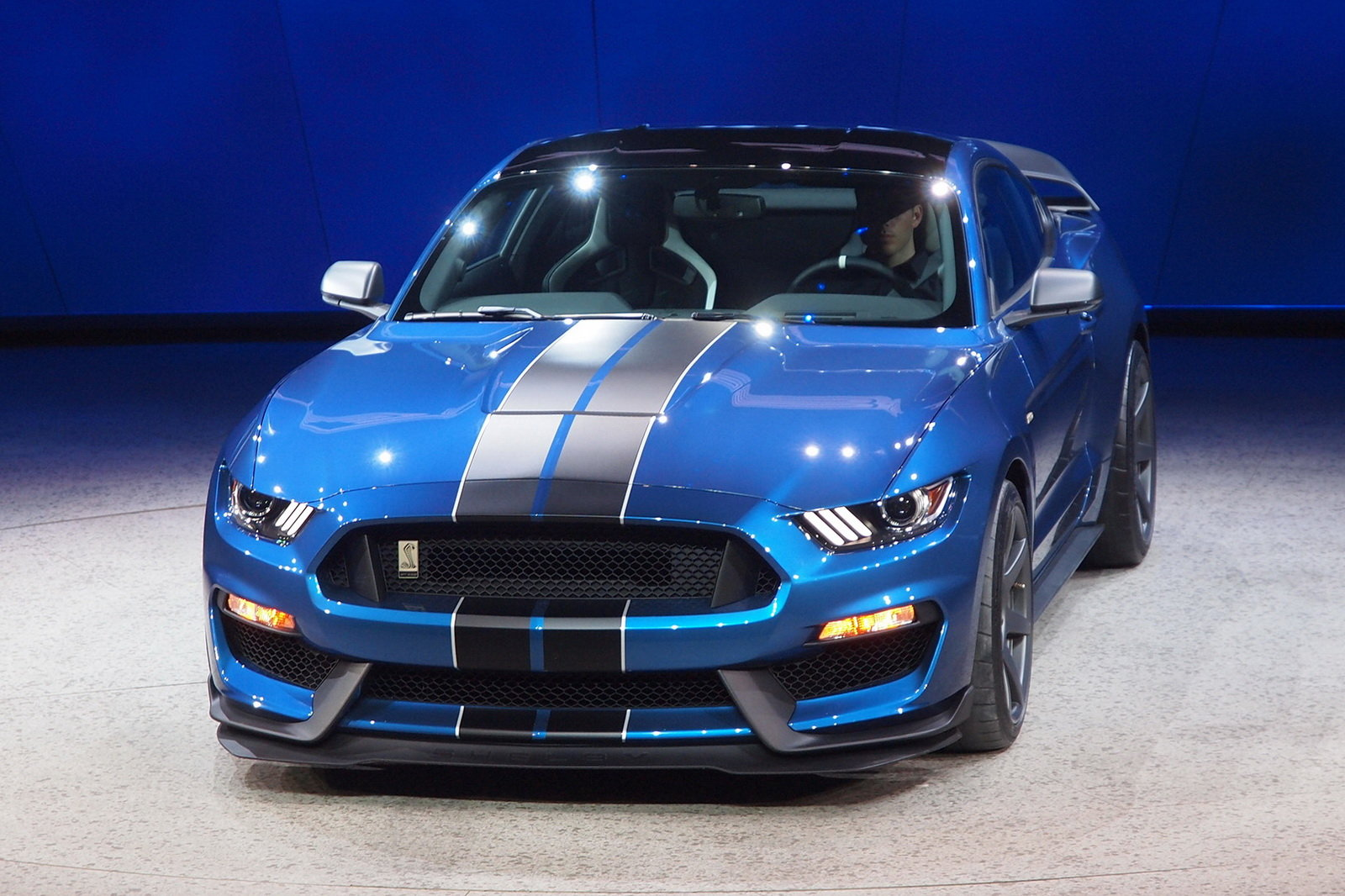 2016 Ford Mustang Shelby Gt350r Front Details (Photo 32 of 47)