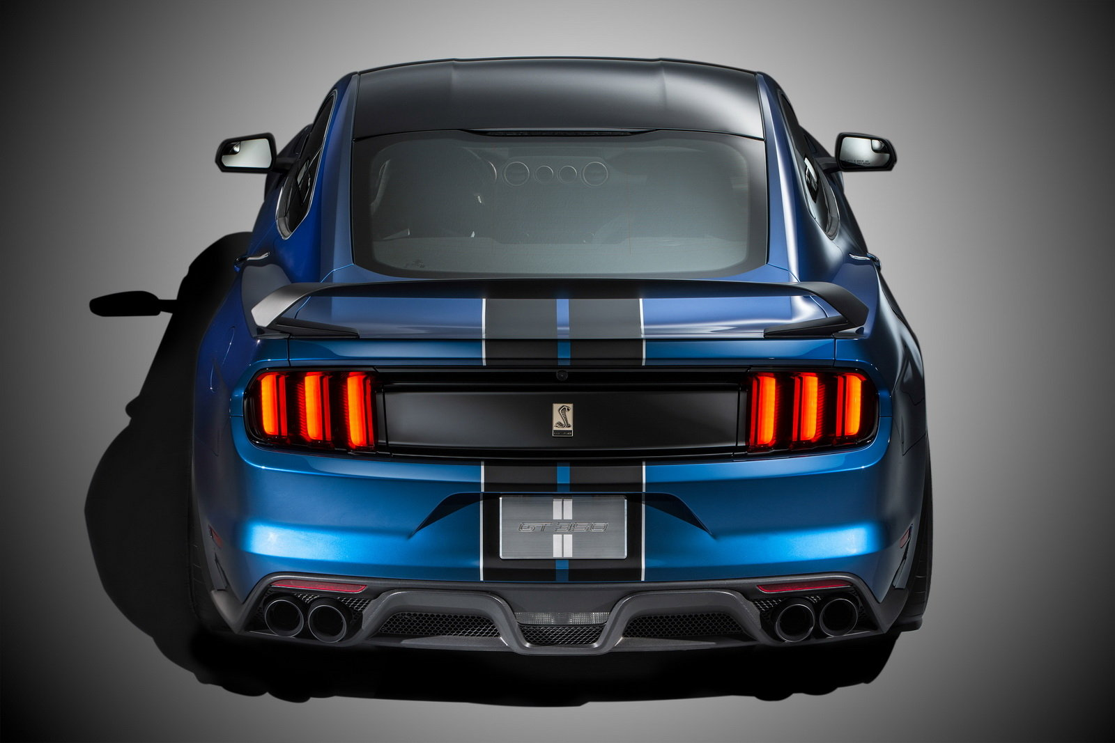 2016 Ford Mustang Shelby Gt350r Rear Exterior (Photo 46 of 47)