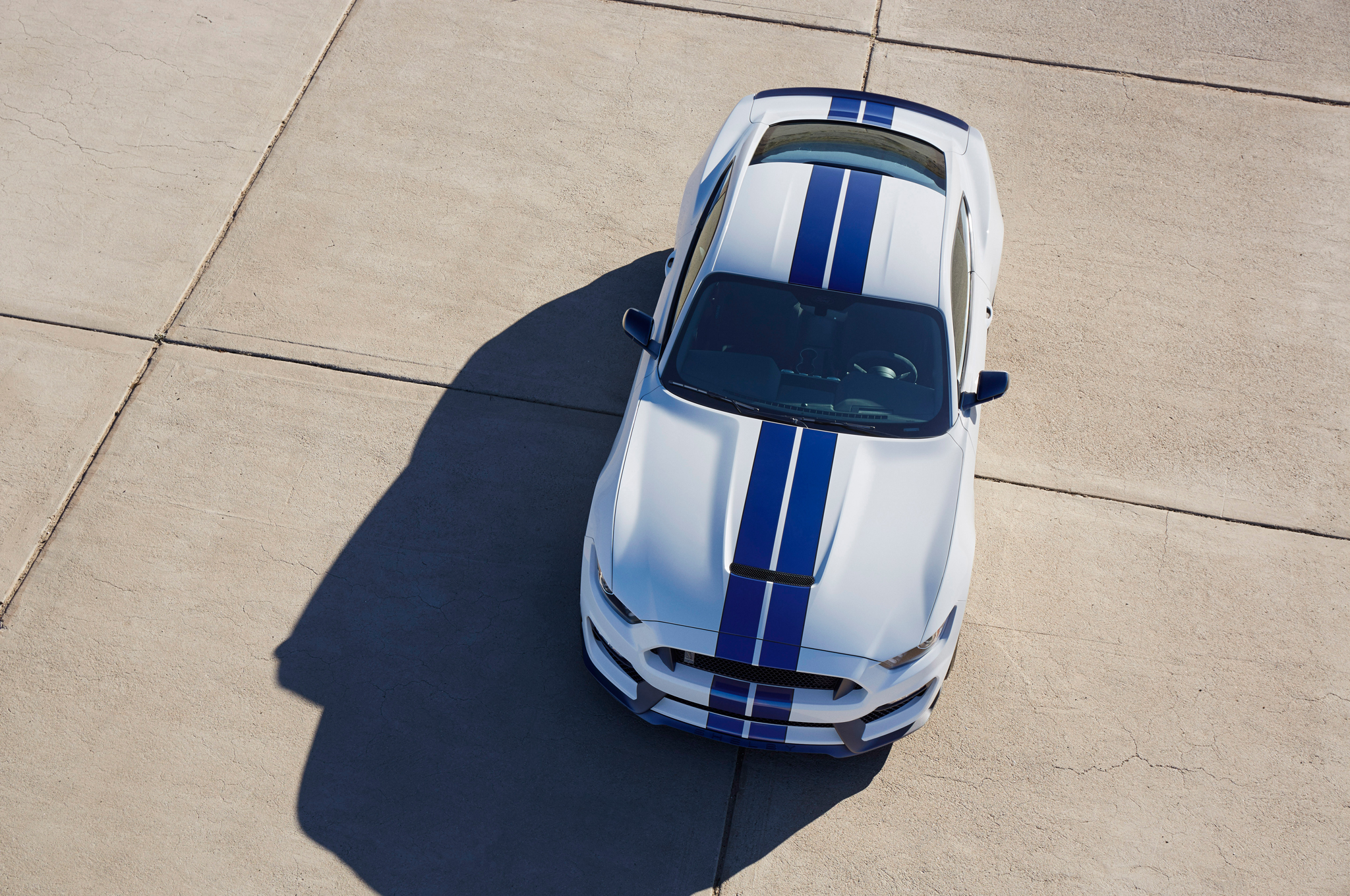2016 Ford Shelby Gt350 Mustang Top View (Photo 46 of 47)