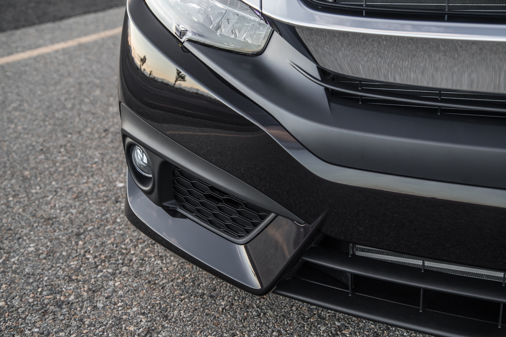2016 Honda Civic Touring Black Front Lip (View 18 of 36)
