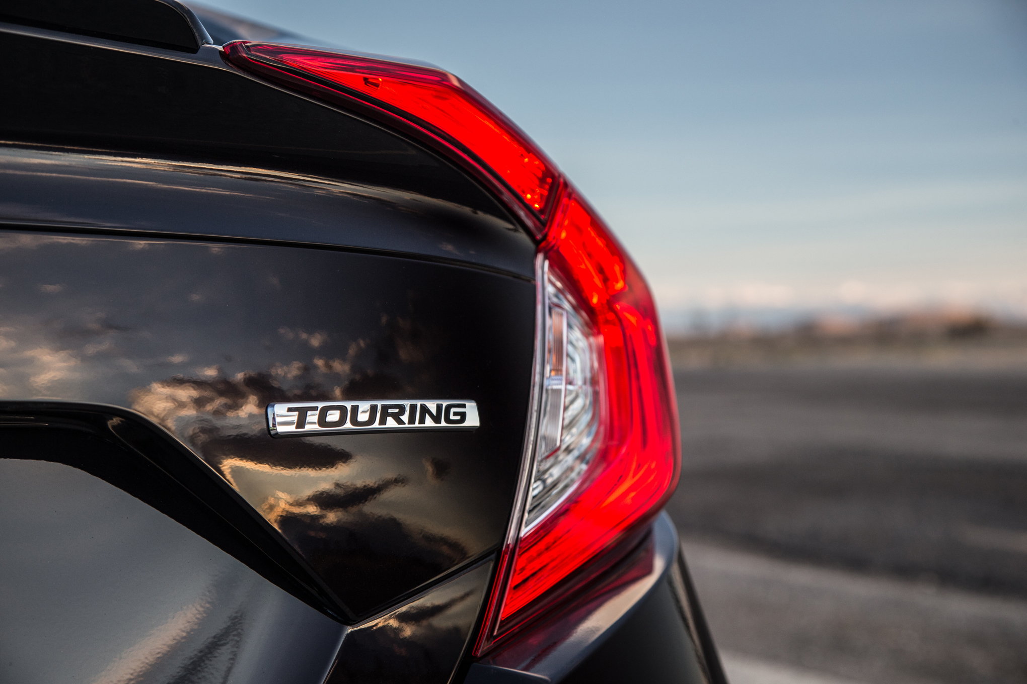 2016 Honda Civic Touring Black Taillight (View 19 of 36)