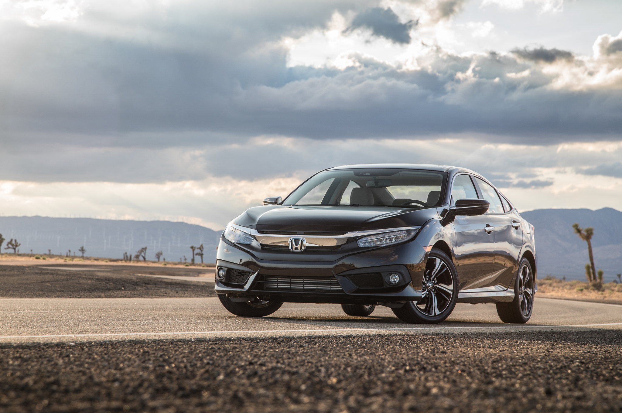 2016 Honda Civic Touring Sedan Black (View 31 of 36)