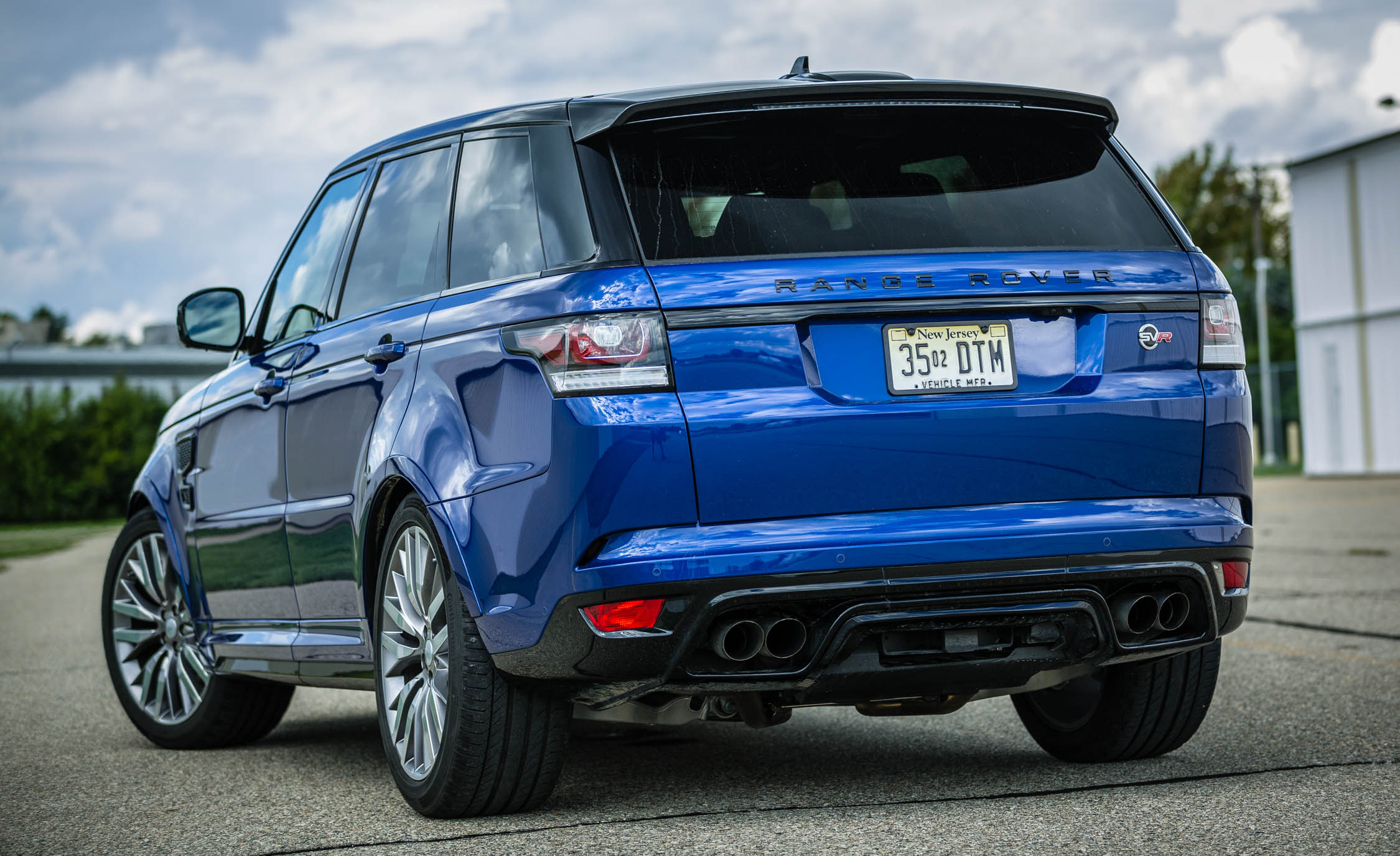 2016 Land Rover Range Rover Sport SVR (View 1 of 7)