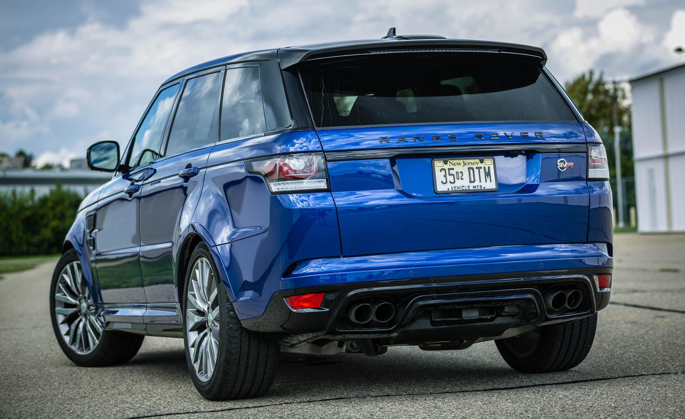 2016 Land Rover Range Rover Sport SVR (Photo 1 of 7)