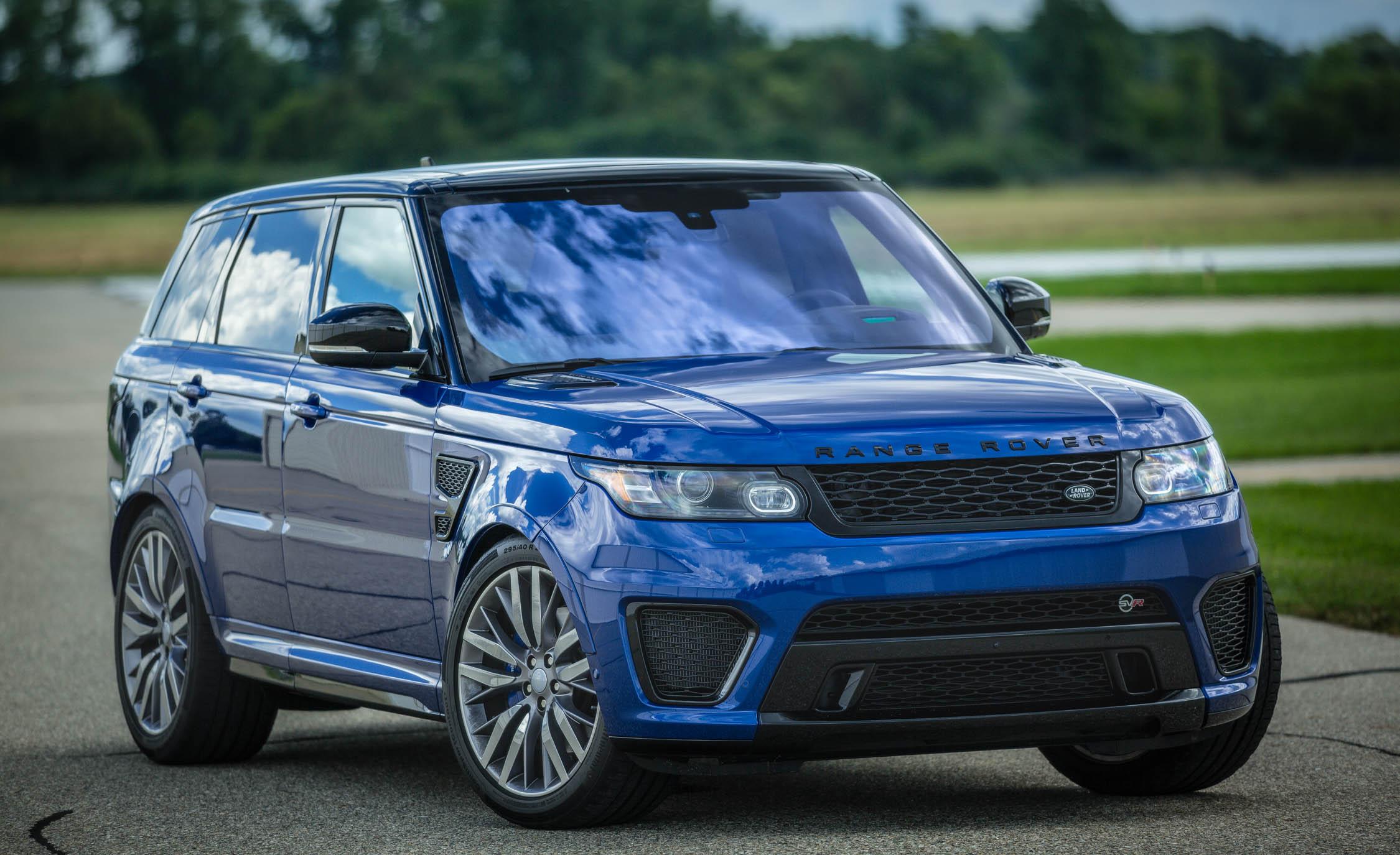 2016 Land Rover Range Rover Sport SVR (Photo 6 of 7)