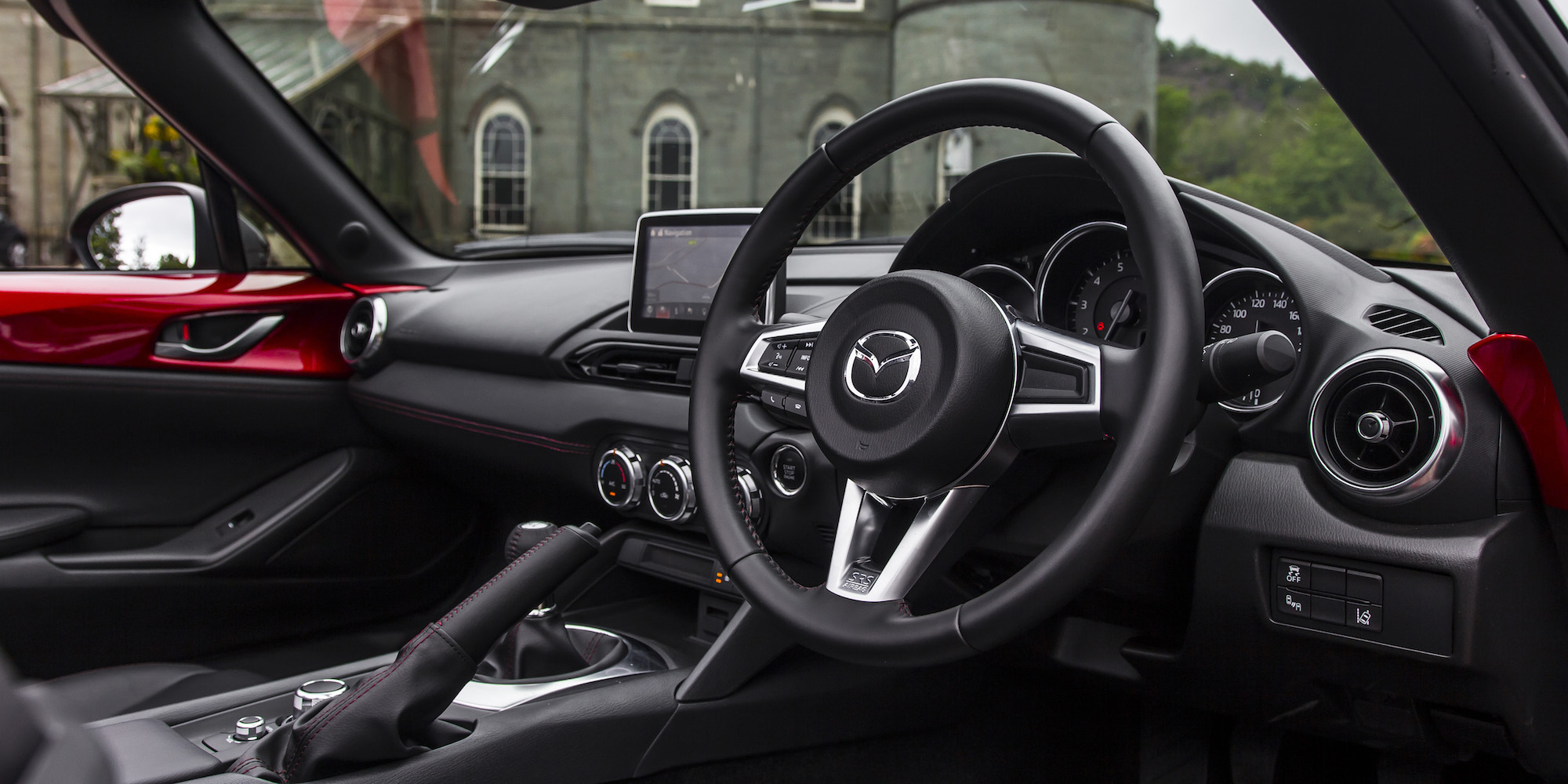 2016 Mazda Mx 5 Cockpit Interior (Photo 15 of 31)